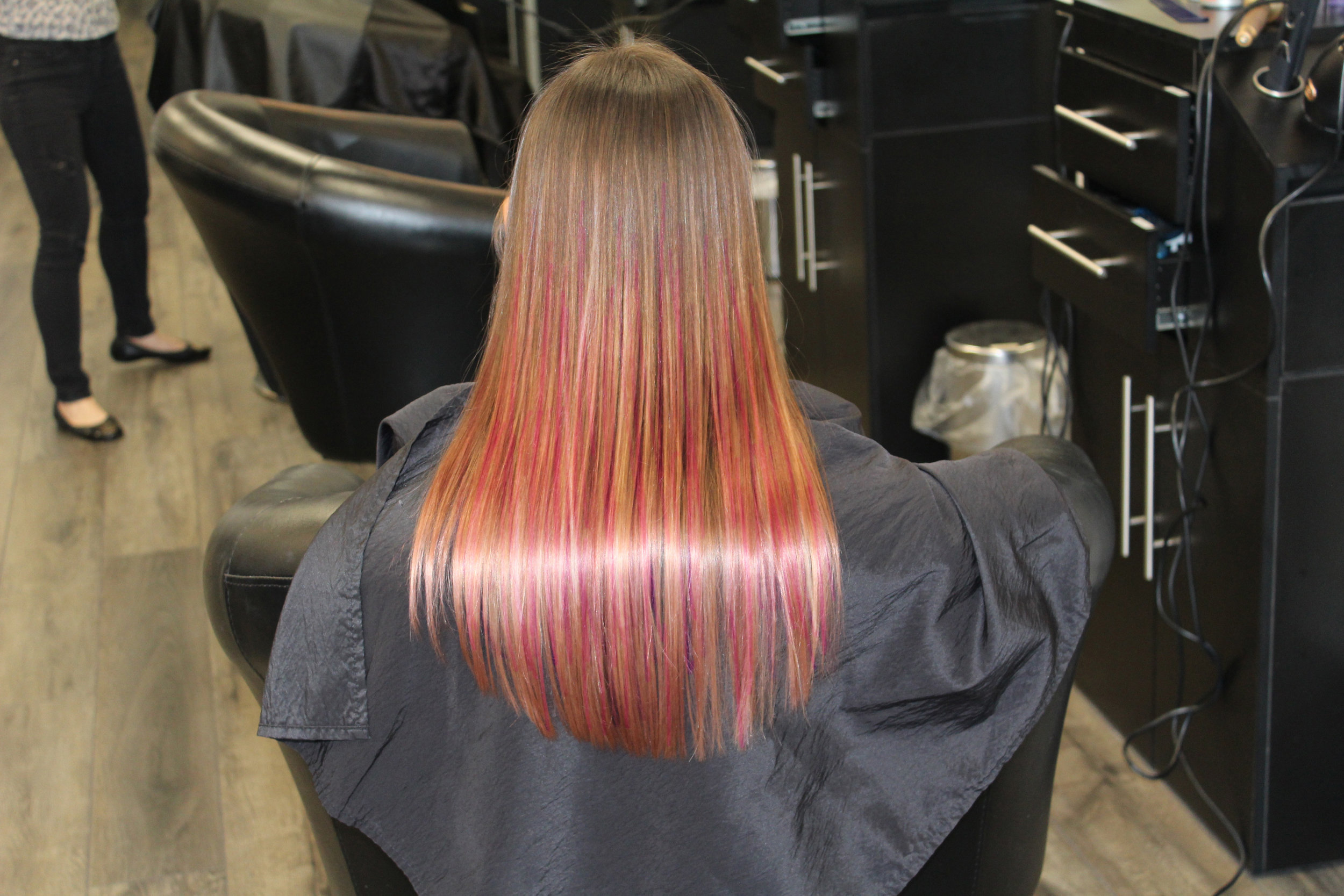 Affinage Metallic Hair Collection