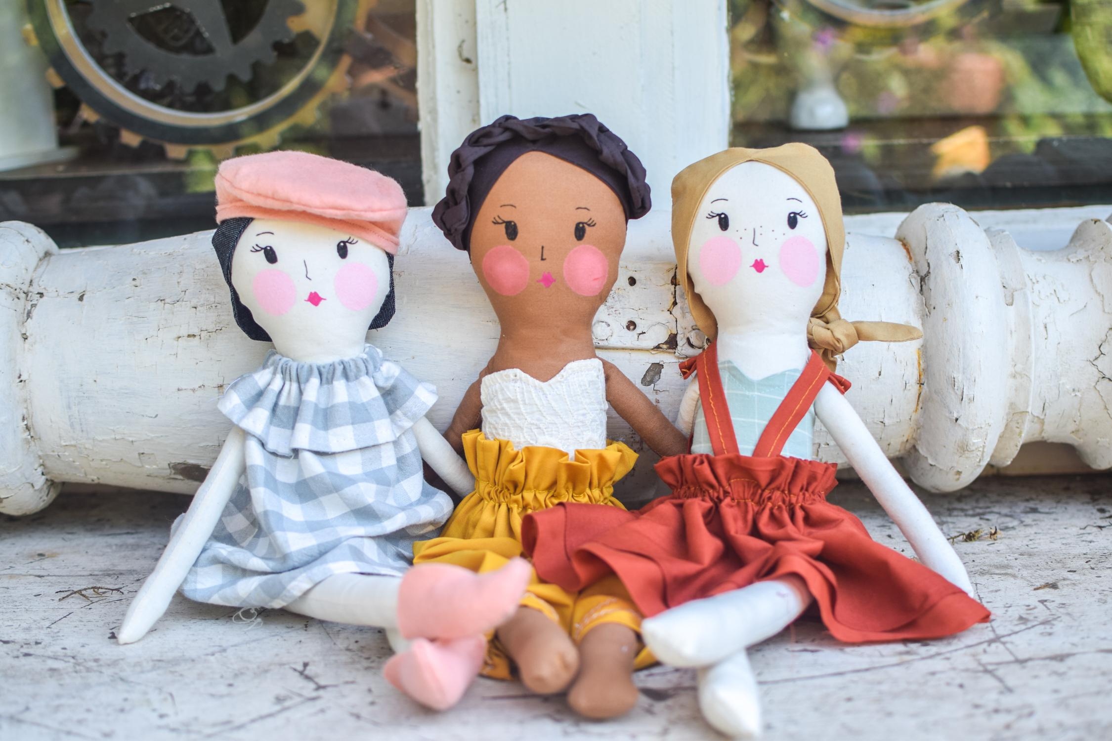 Wayward Daisy Dolls with the Nurture Blog