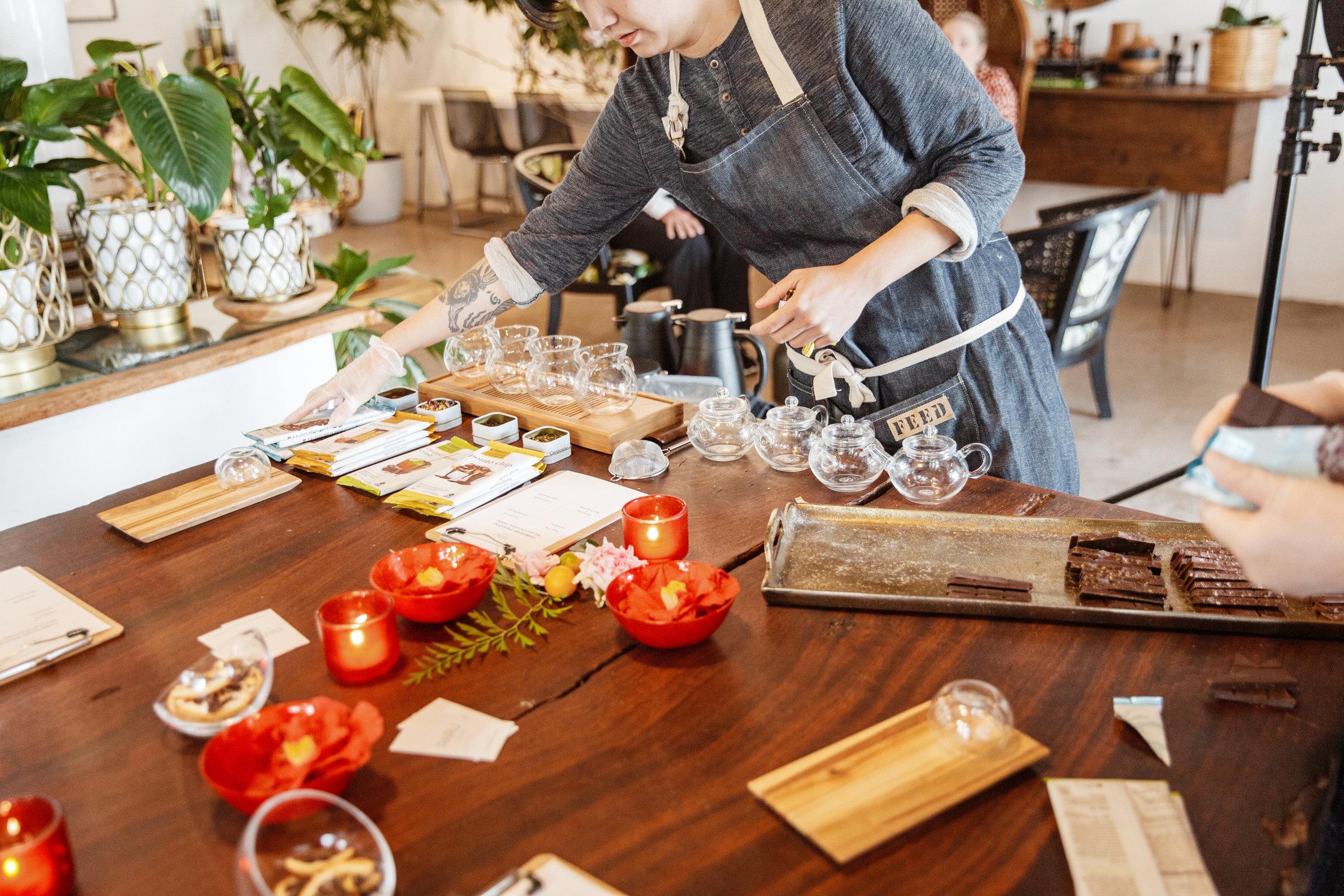 Part Tea Galentines Isari Studio