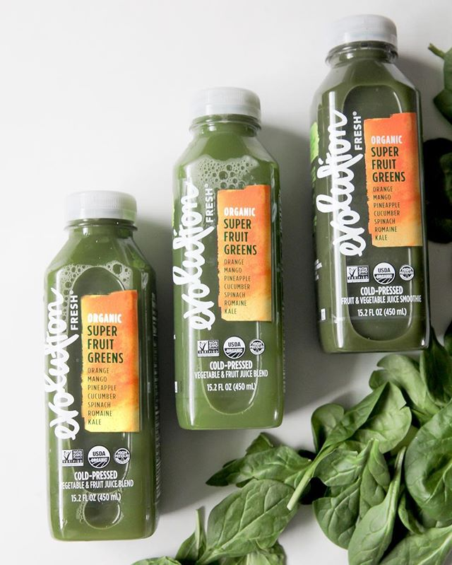 #sponsored Having a hard time fitting in all your greens? Try Evolution Fresh cold-pressed juices. The Organic Super Fruit Greens contains Spinach, Romaine, and Kale in addition to Cucumber, Pineapple, Mango and Orange. This refreshing blend of fruits and veggies definitely helps me seize the day and helps me make the most of my limited time and energy. You can find Evolution Fresh cold-pressed juice in the juice aisle or premium functional beverage section at your local @ralphsgrocery * #EvolutionFreshatKroger #EvolutionFresh #evolvetheday #coldpressedjuice #kale #spinach #romainelettuce #organicjuice