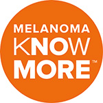 Click the logo to visit the 'Melanoma Know More' website.