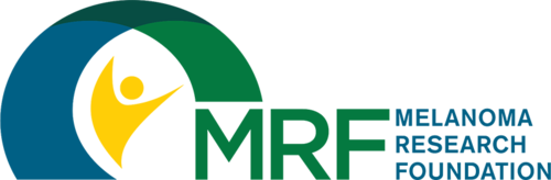 Click the logo to visit the 'Melanoma Research Foundation' website.
