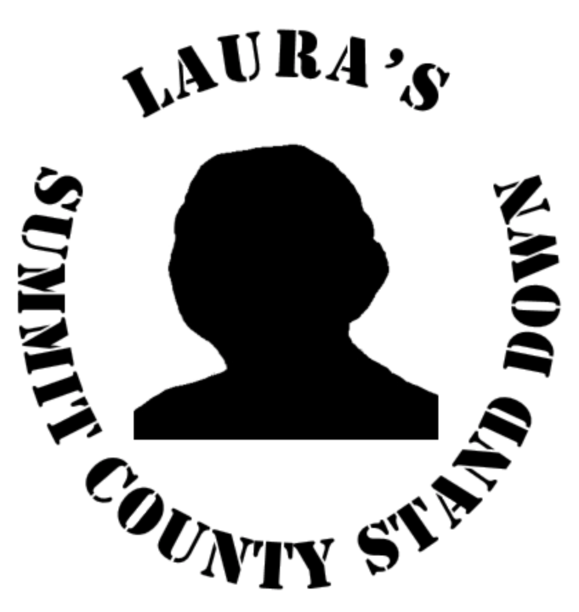 Click the logo to visit the 'Laura's Summit County Stand Down' website.