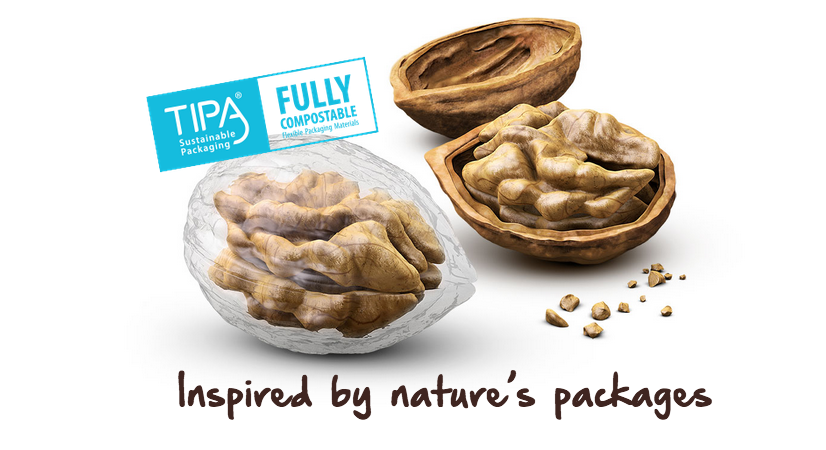 TIPA: compostable, just like Nature