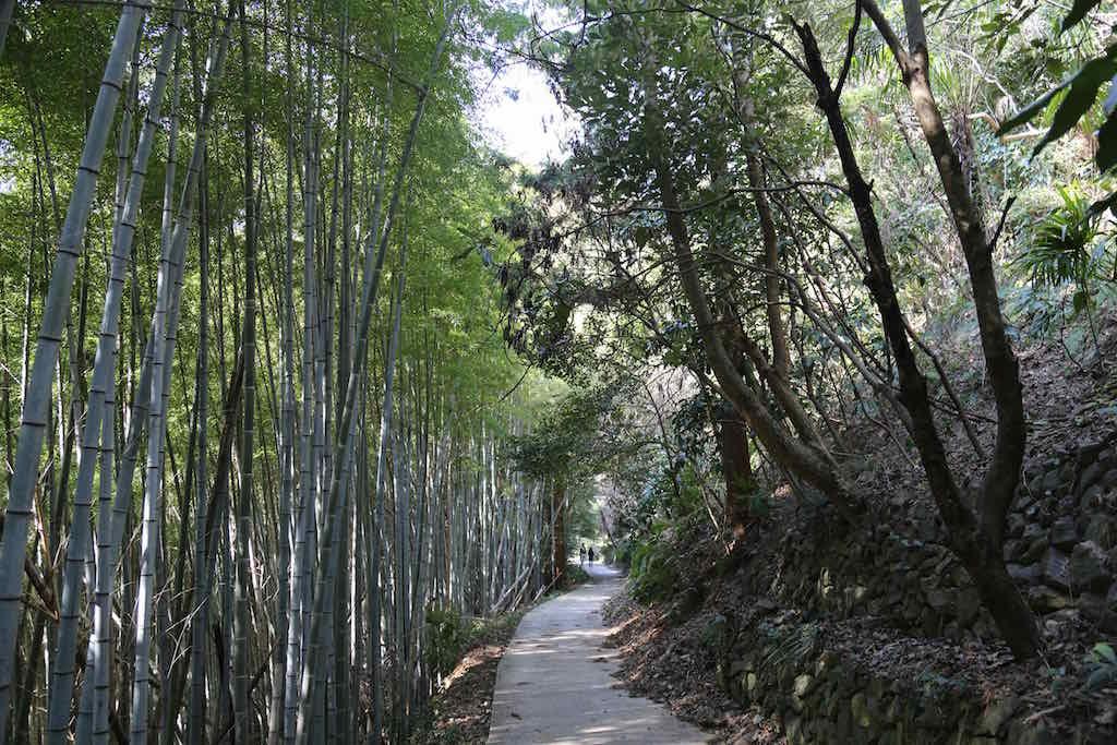 The pathwalk of Iwaishima Island