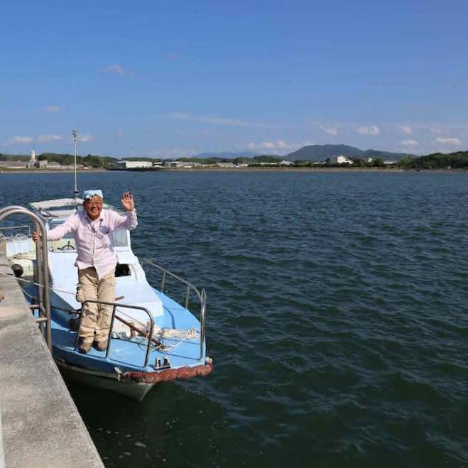 Kimura San fishing tour