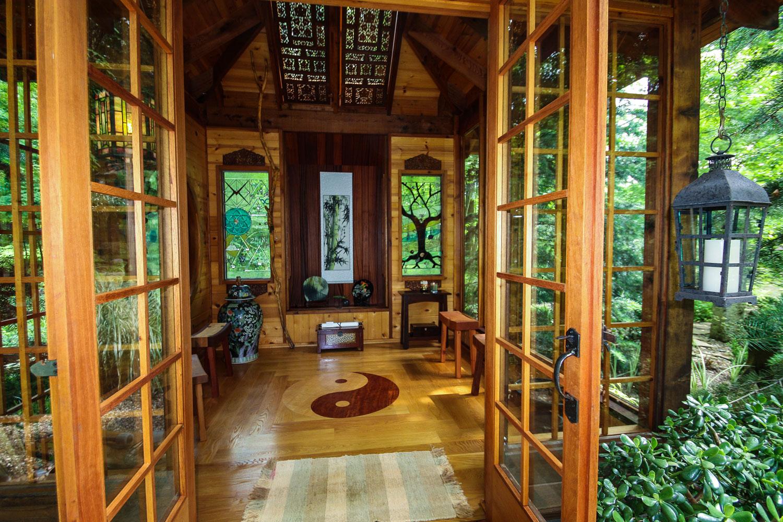 Japanese Tea House Miriam S River House Designs Llc