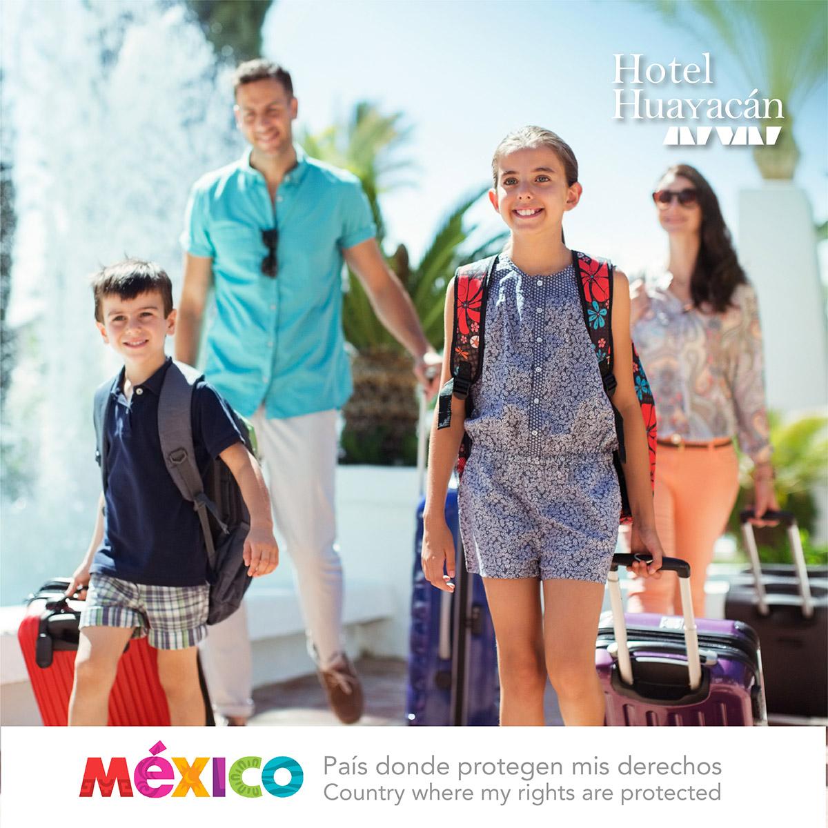 Hotel Huayacán comprometido - Estamos comprometidos para colaborar y aplicar el Código de Conducta Nacional para la Protección de Niñas, Niños y Adolescentes en el Sector de los Viajes y el Turismo.