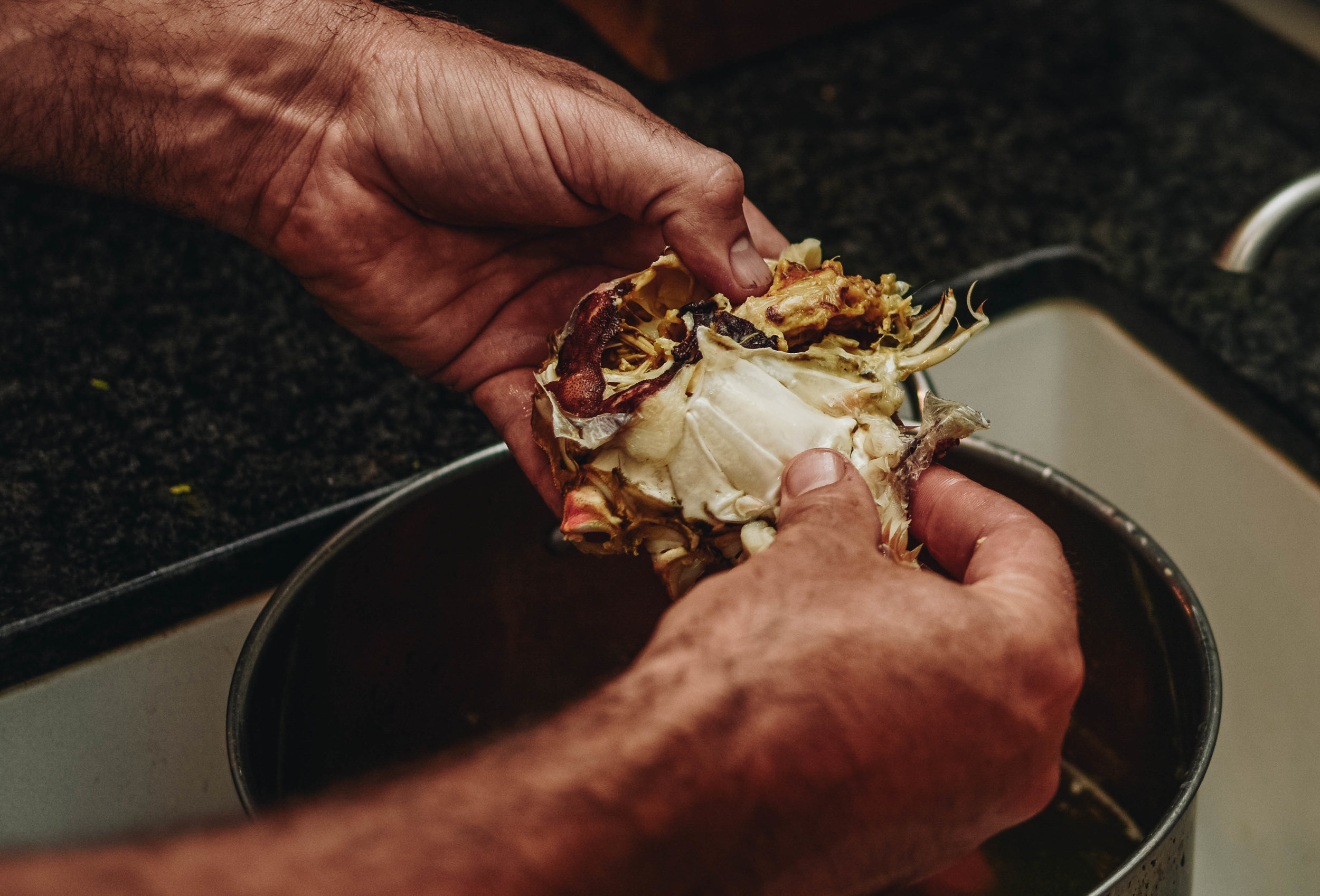 cleaning dungenous crab tutorial