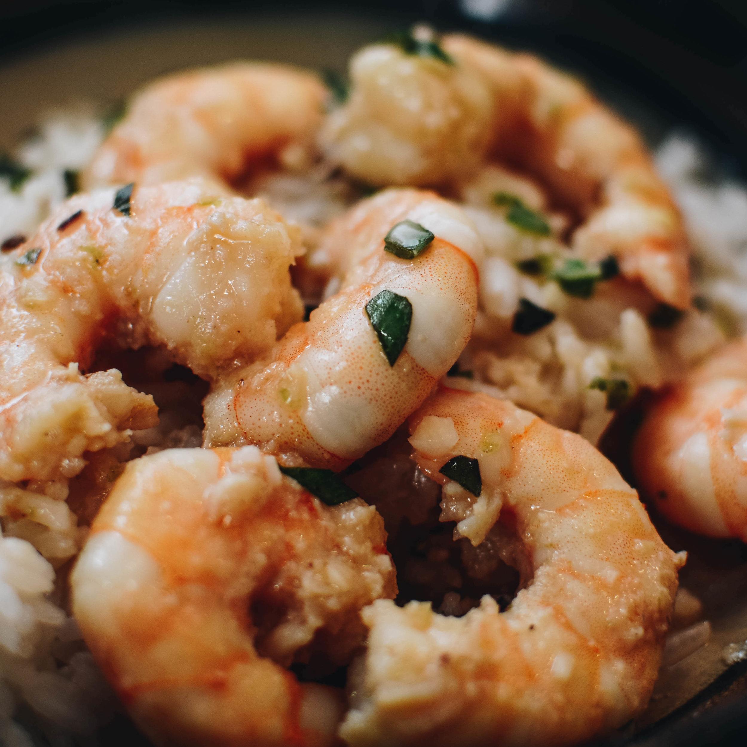 spicy shrimp coconut milk