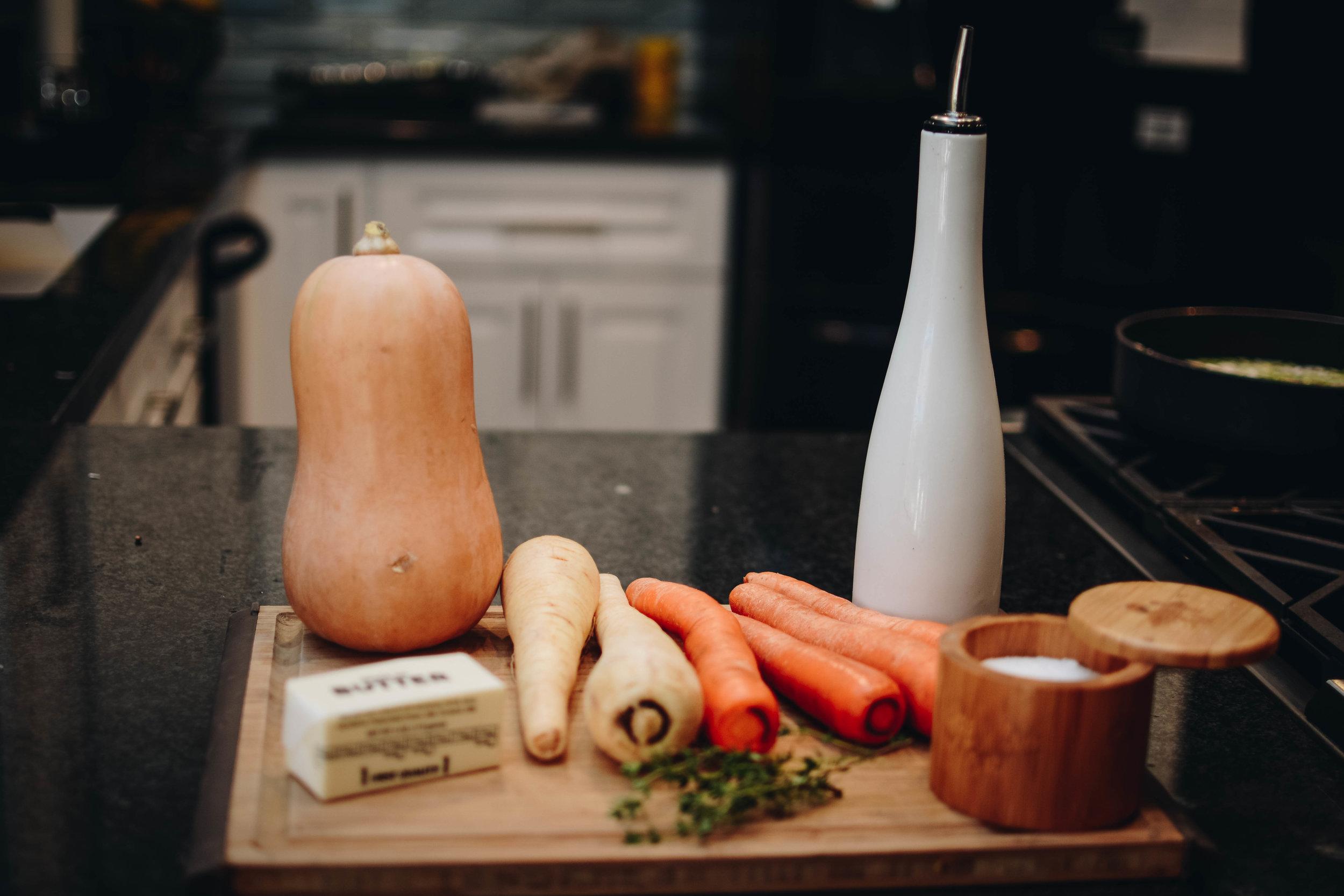 carrot parsnip squash