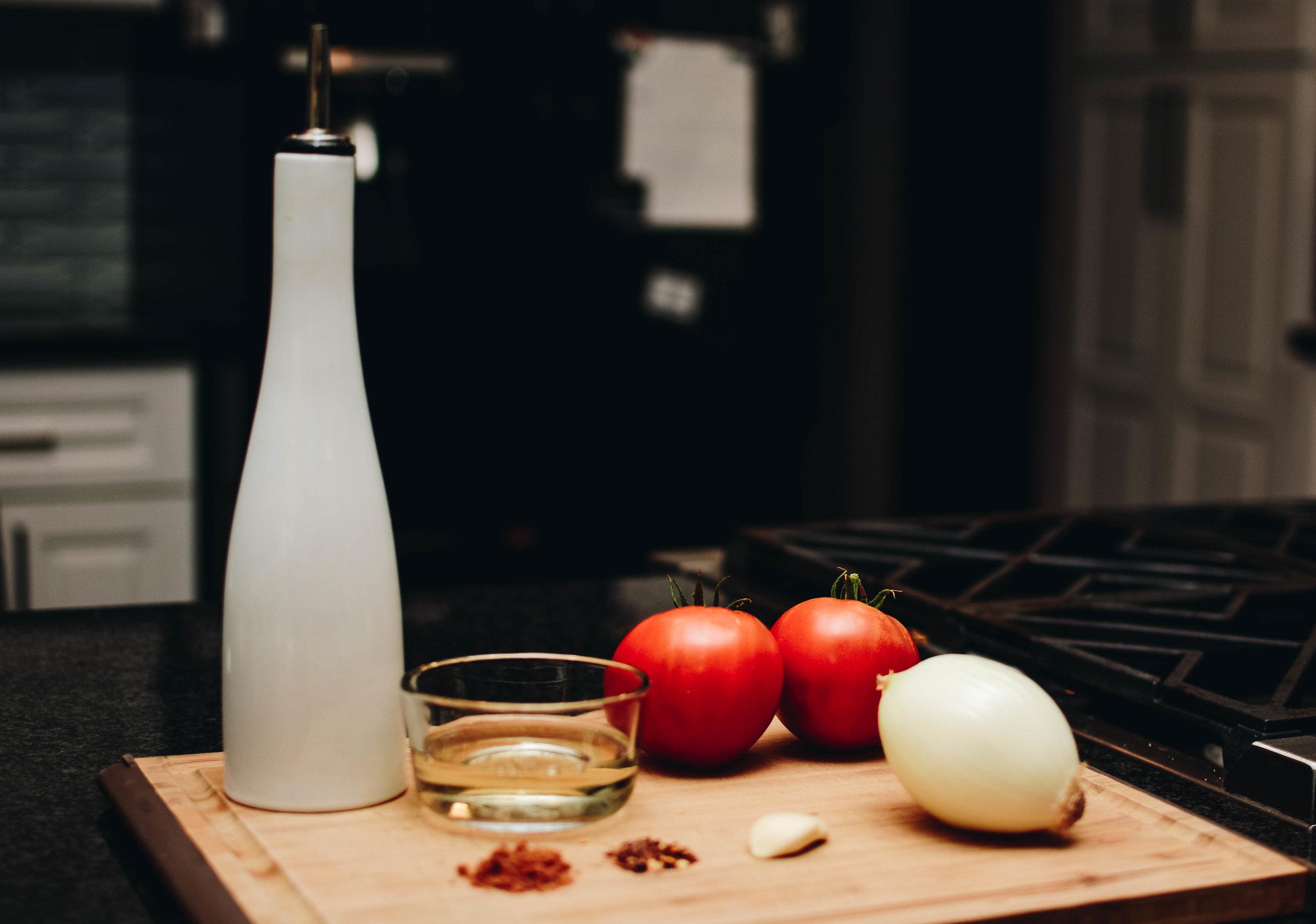 tomato onion wine