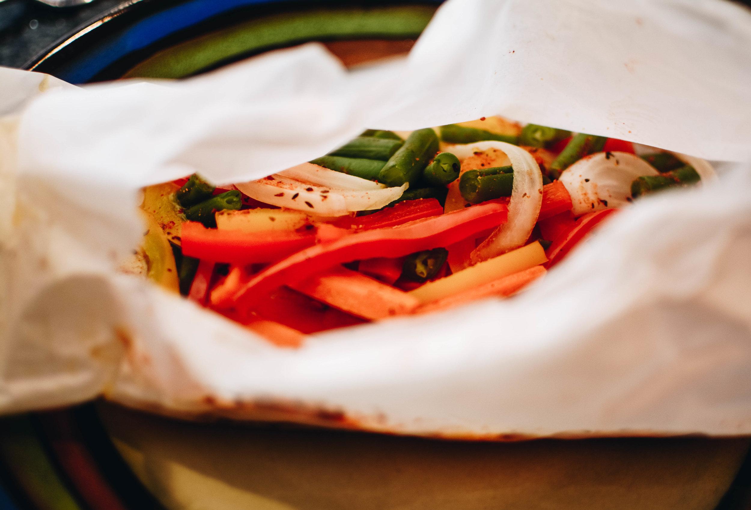 snapper veggies
