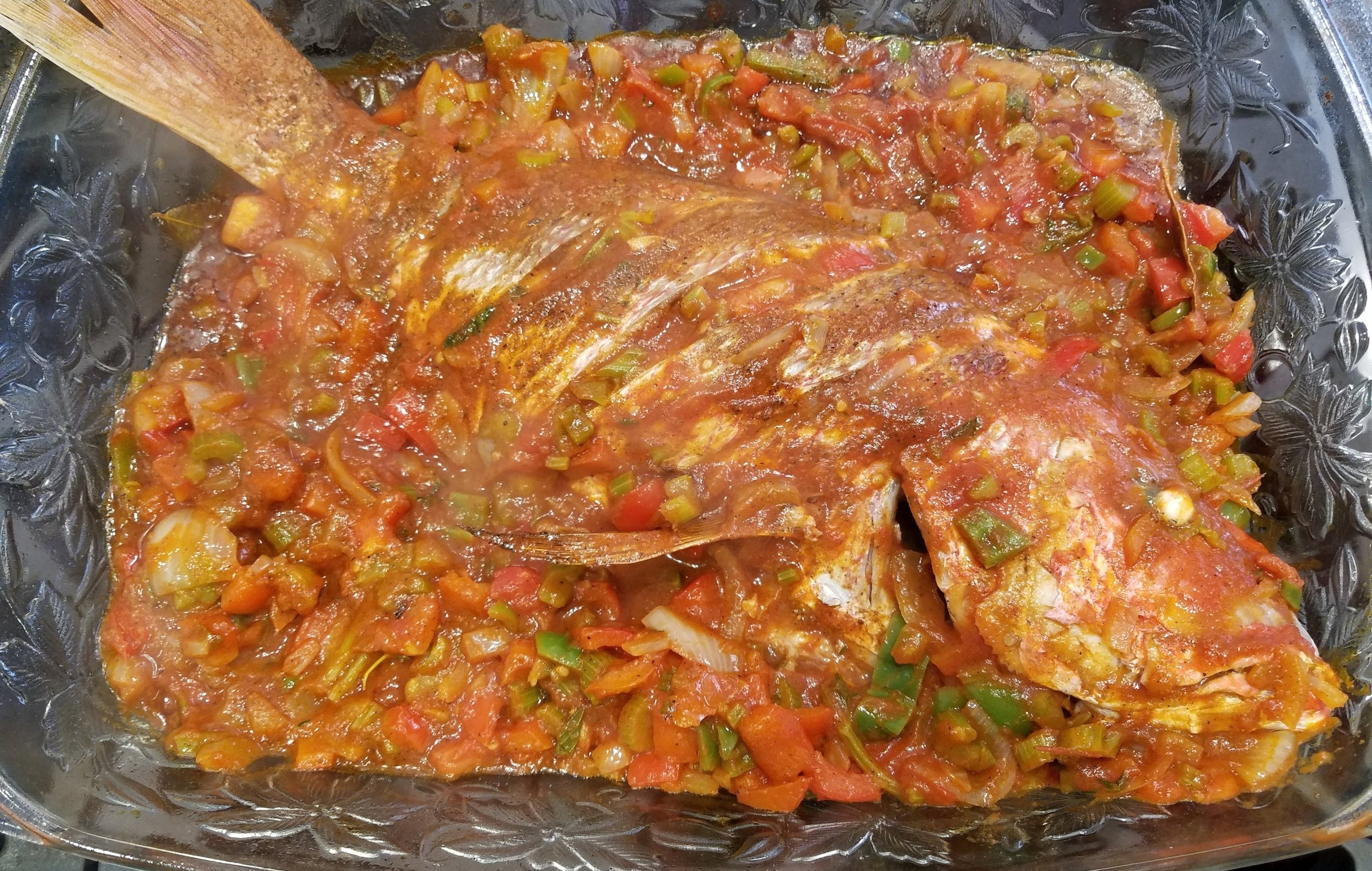 red snapper creole sauce