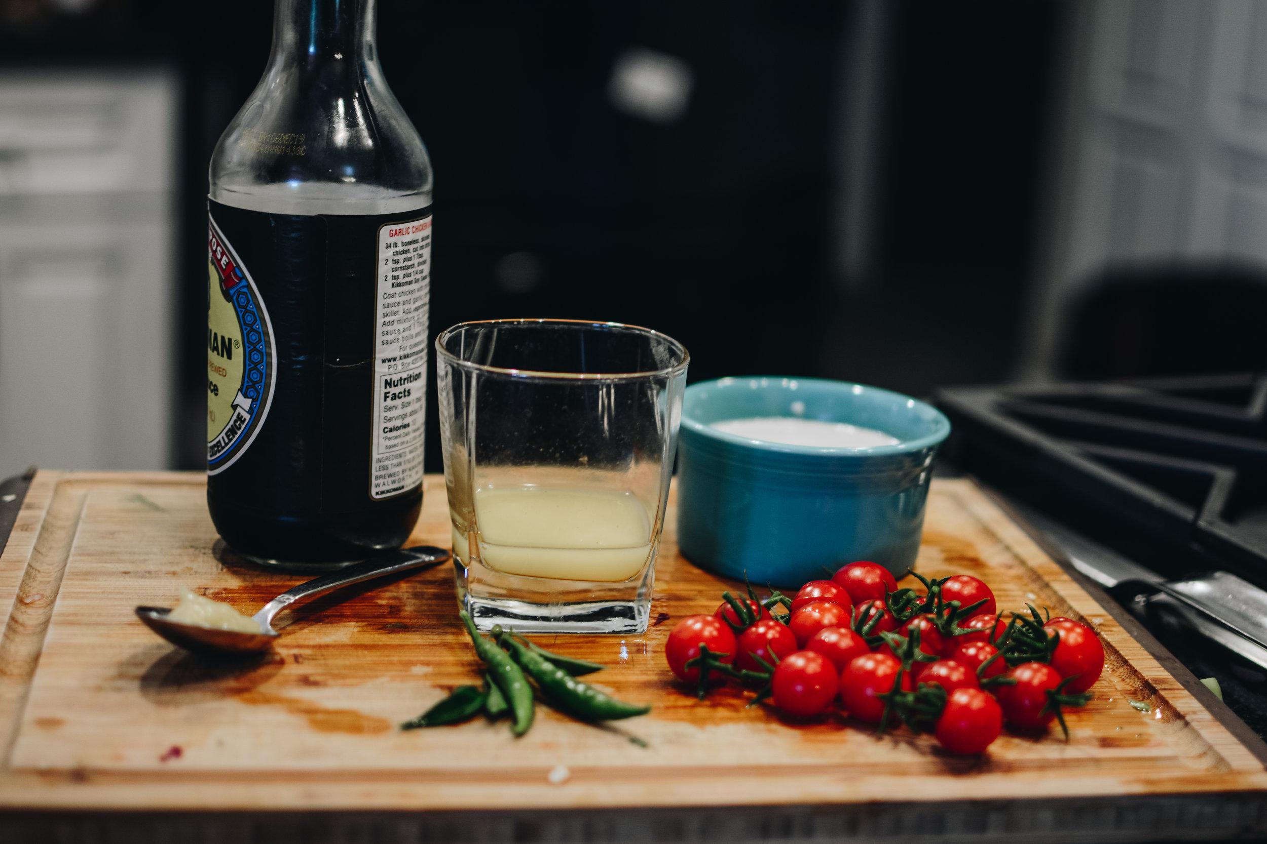 tomatoes cocnut milk