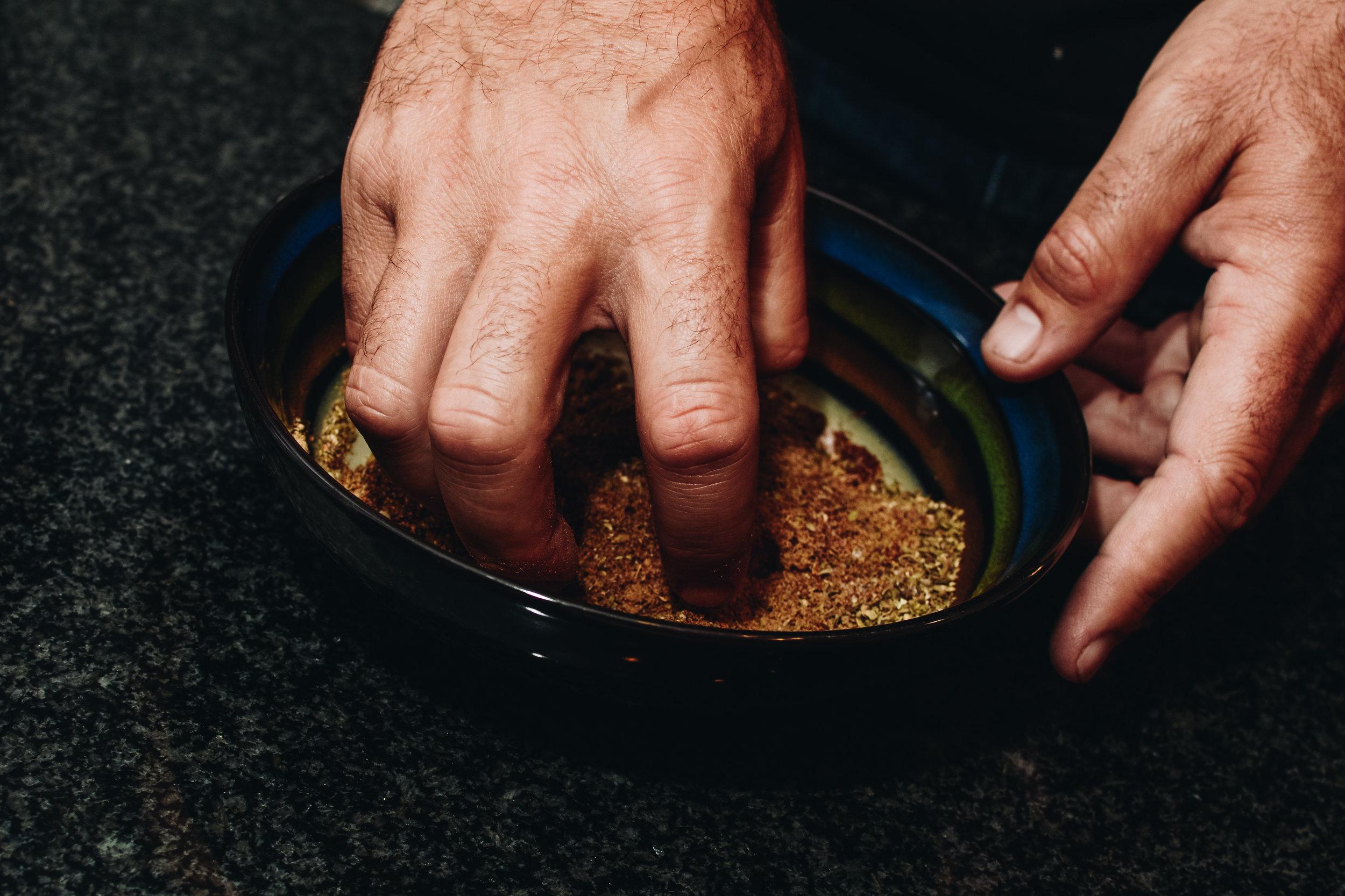 spice mix sturgeon