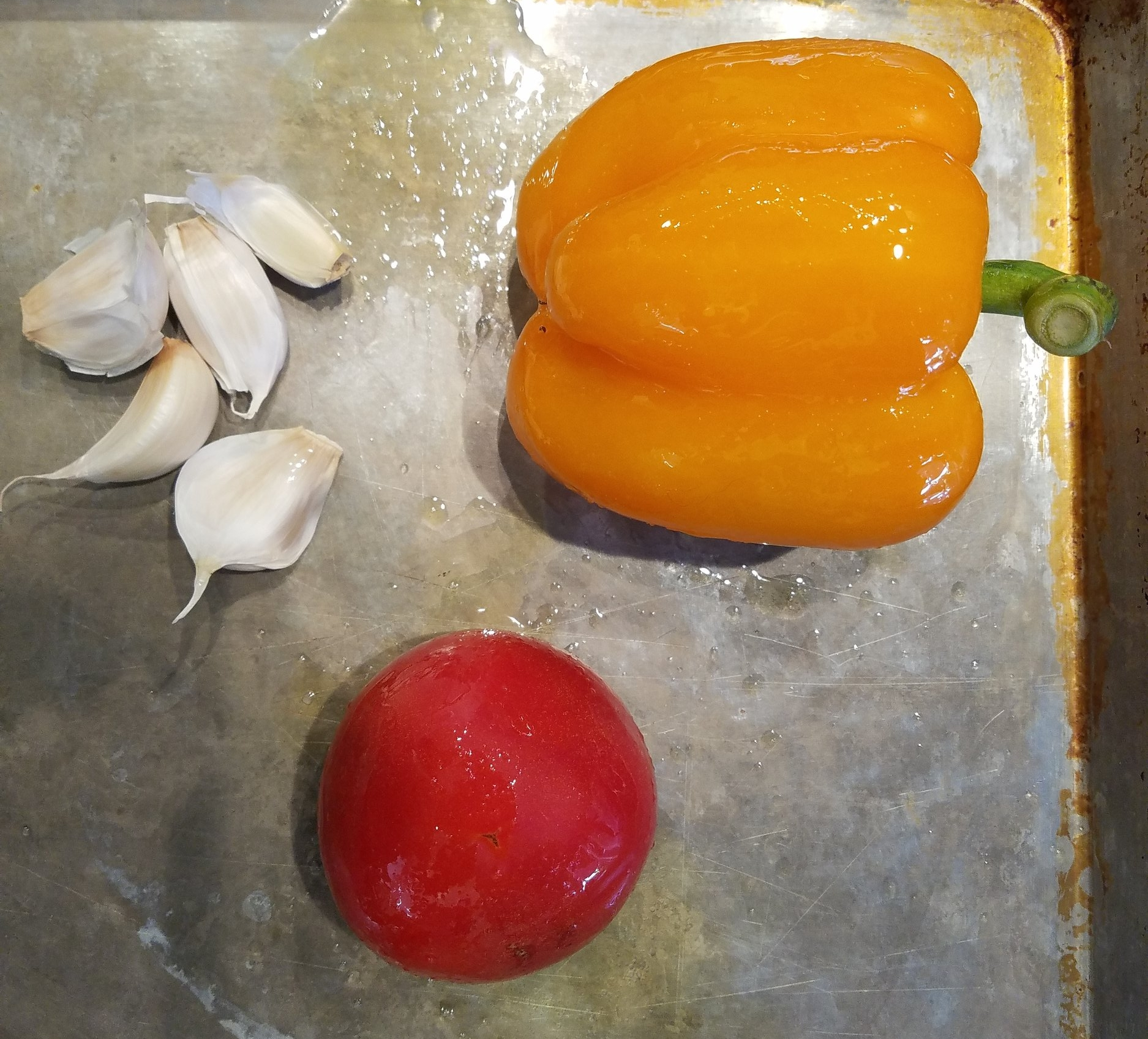 PEPPERS TOMATO GARLIC