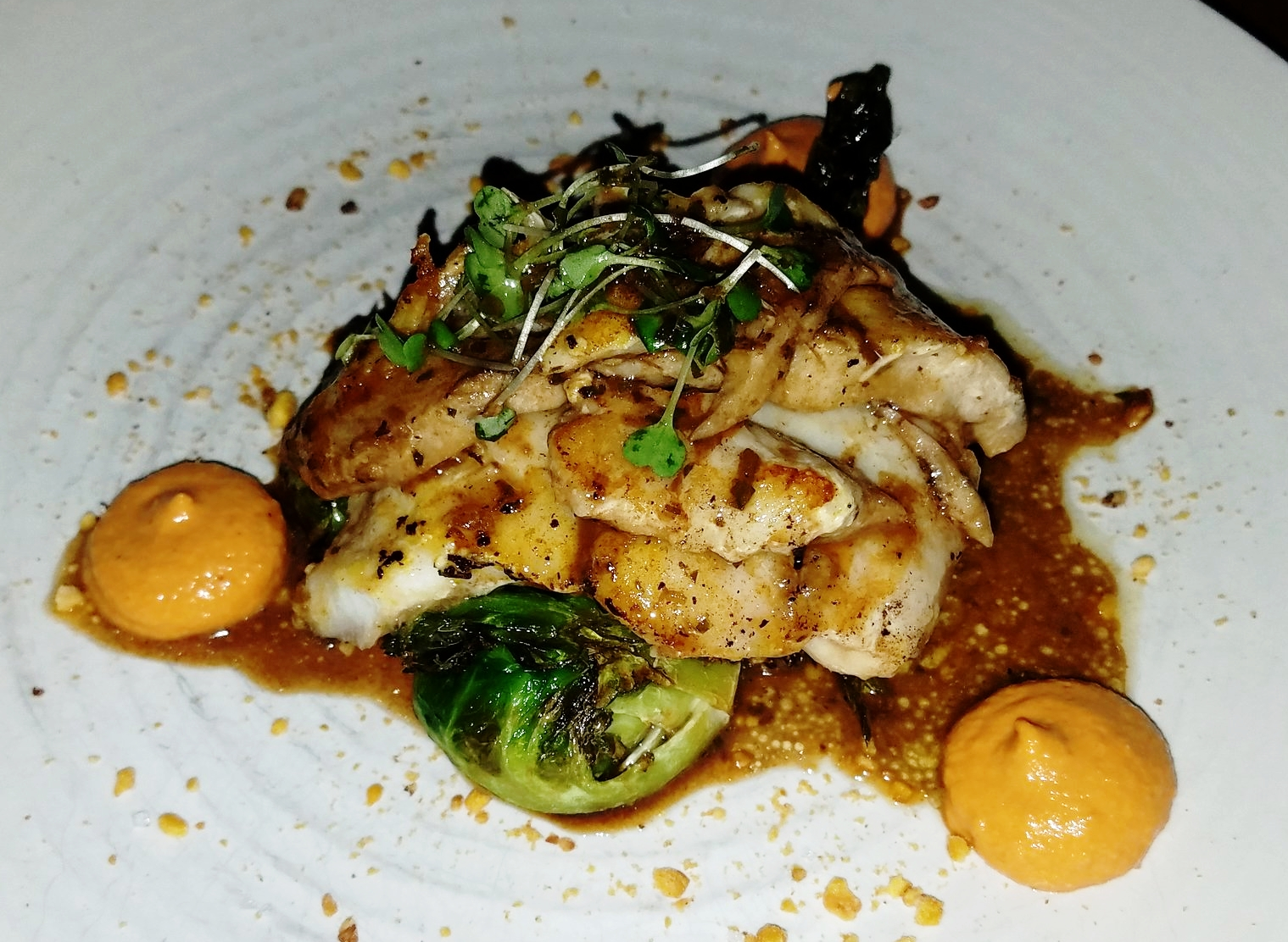 fish in restaurant