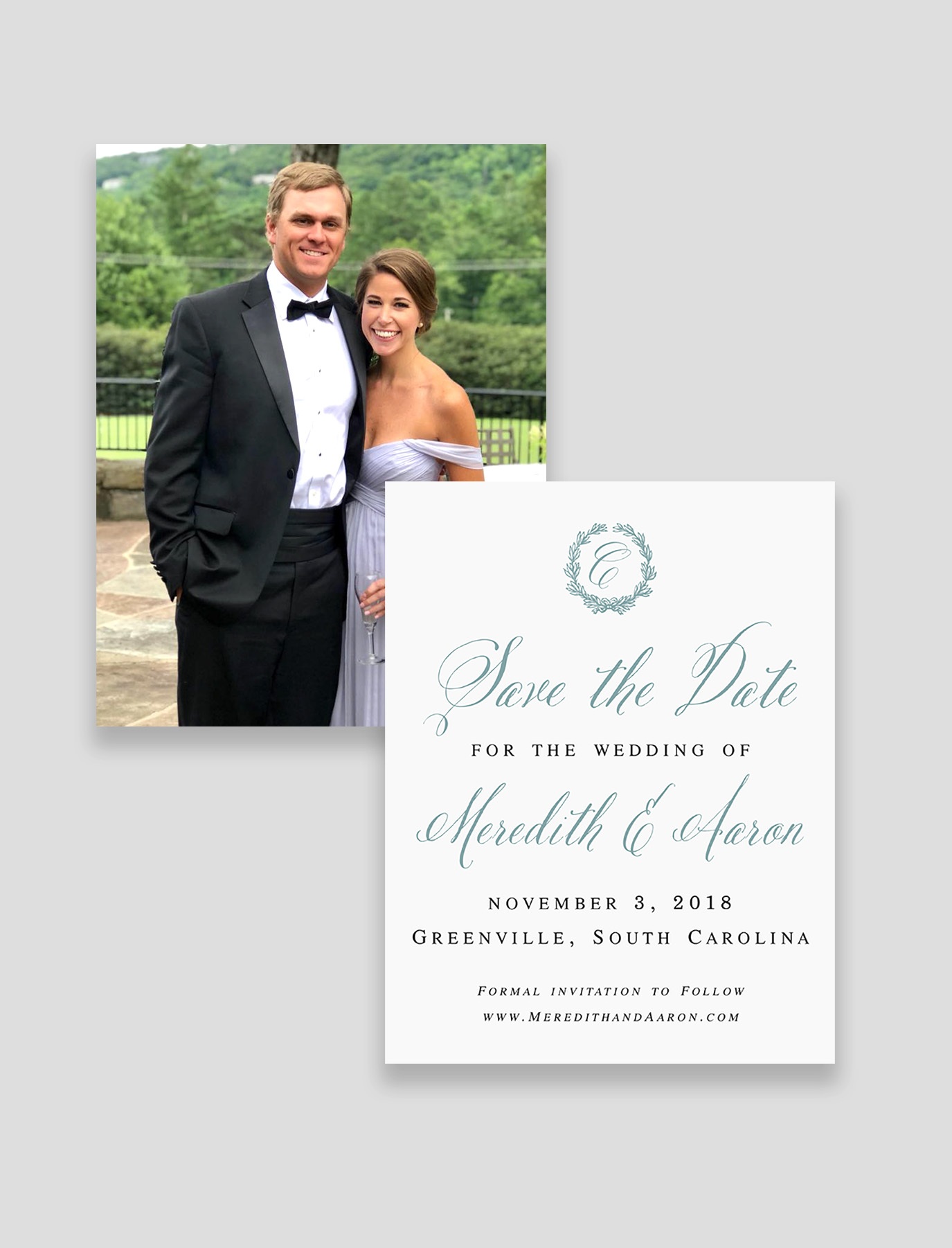 The Virginia Suite Save the Date & Envelope