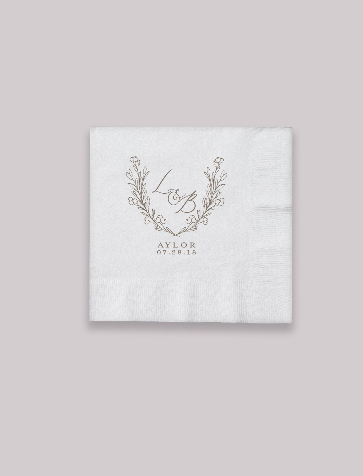 The Julia Suite Cocktail Napkins