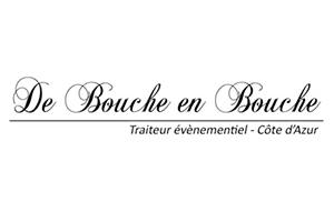 De Bouche en Bouche Traiteur événementiel Côte d'Azur