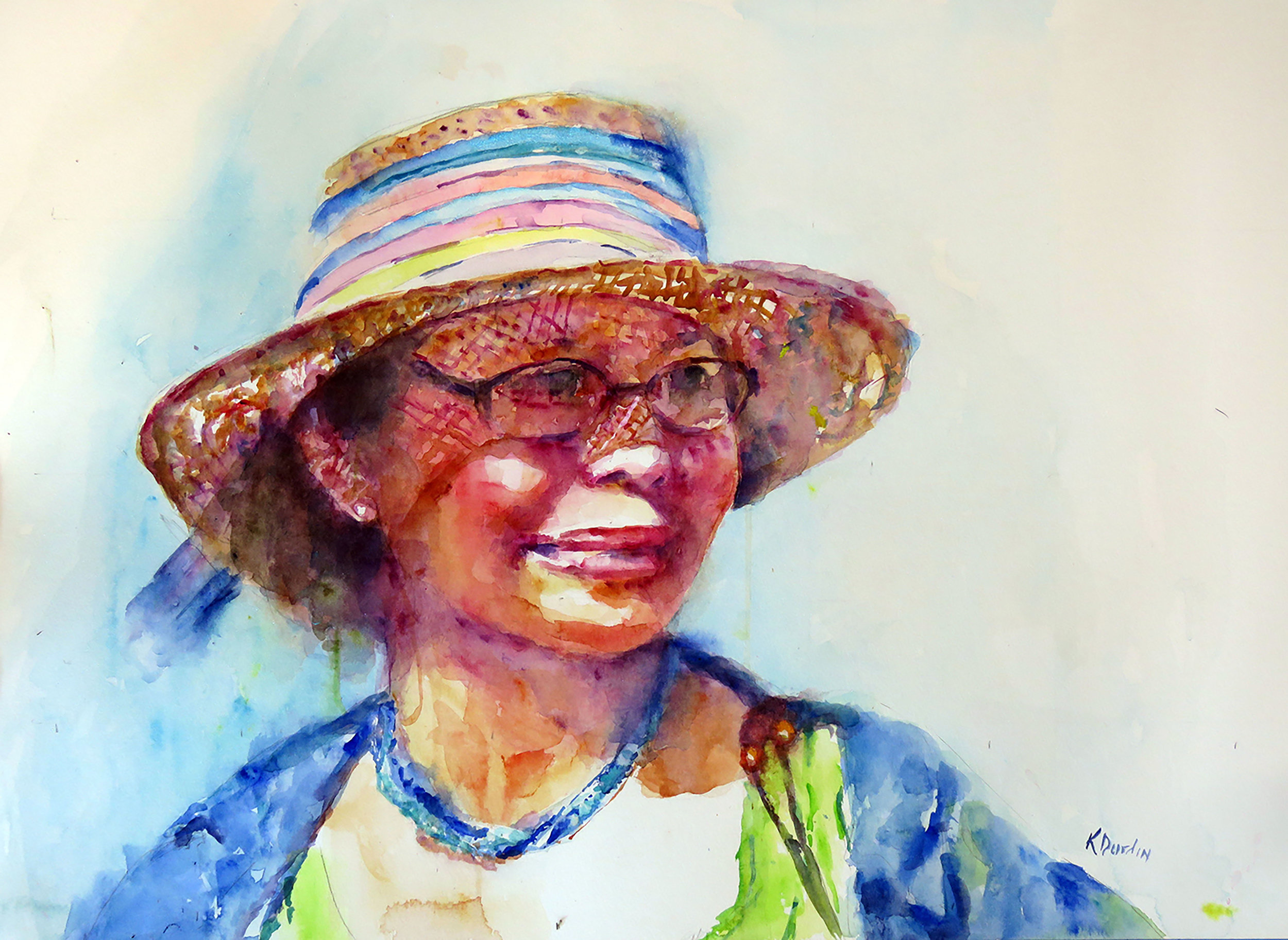 Bright Sunny Day II, 2018 Florida Watercolor Society