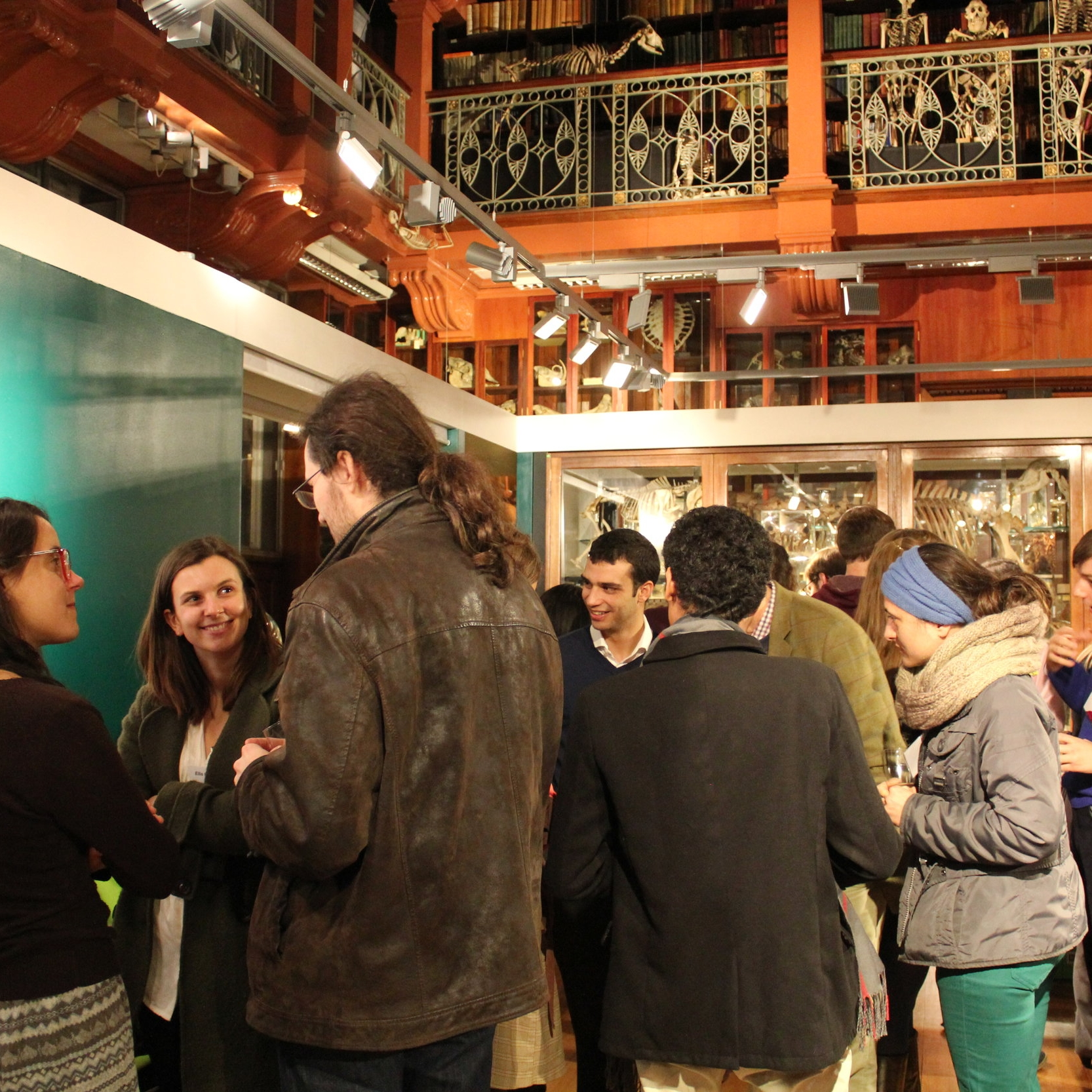 Drinks reception for the BSHS Postgraduate Conference took place in the Grant Museum of Zoology.