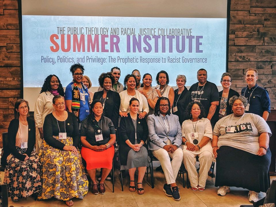 Pictured: Cohort 1 with Rev. Dr. Teresa L. Smallwood, JD Ph.D., Associate Director of the Public Theology and Racial Justice Collaborative