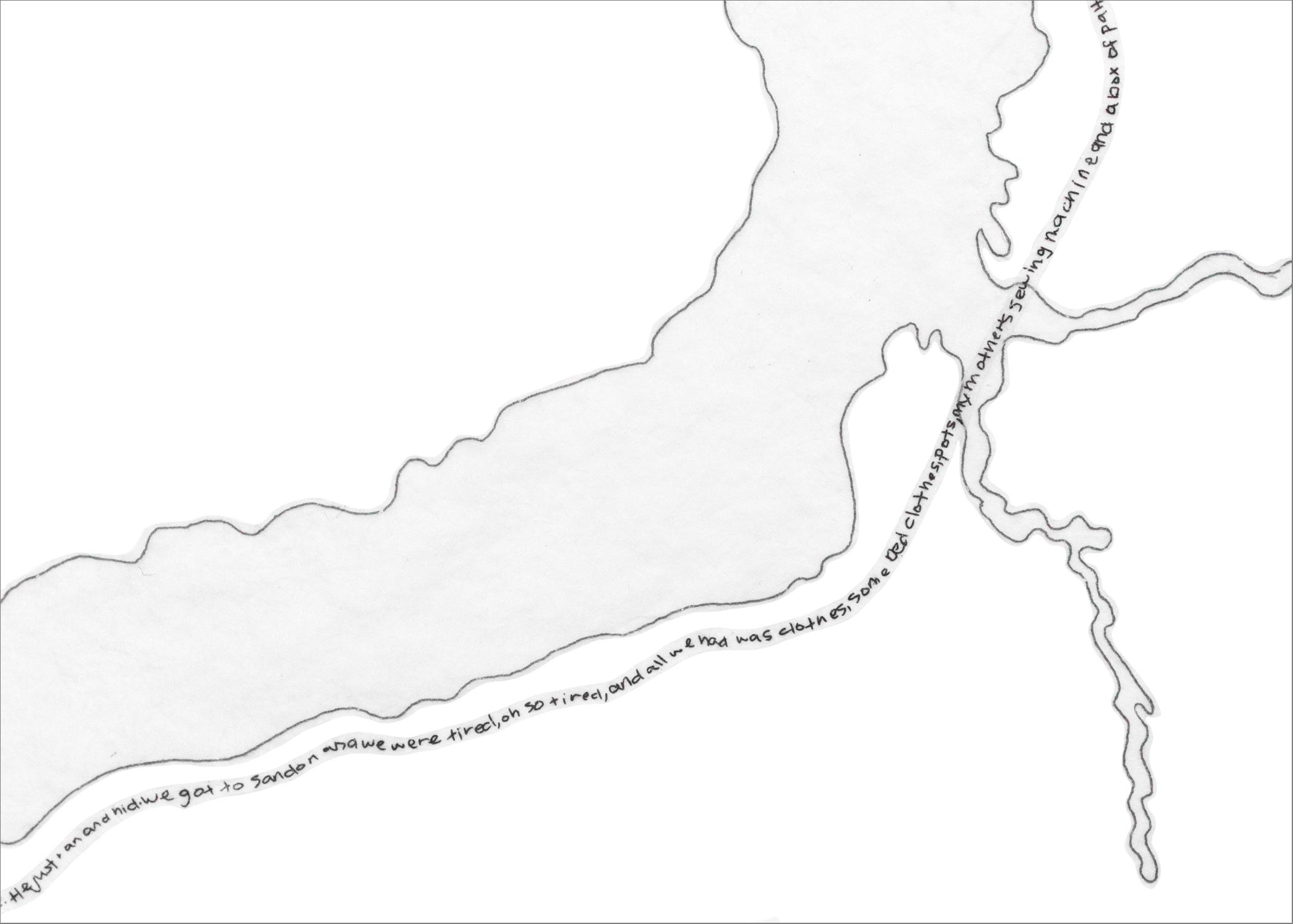 Lower Arrow Lake - Detail 2