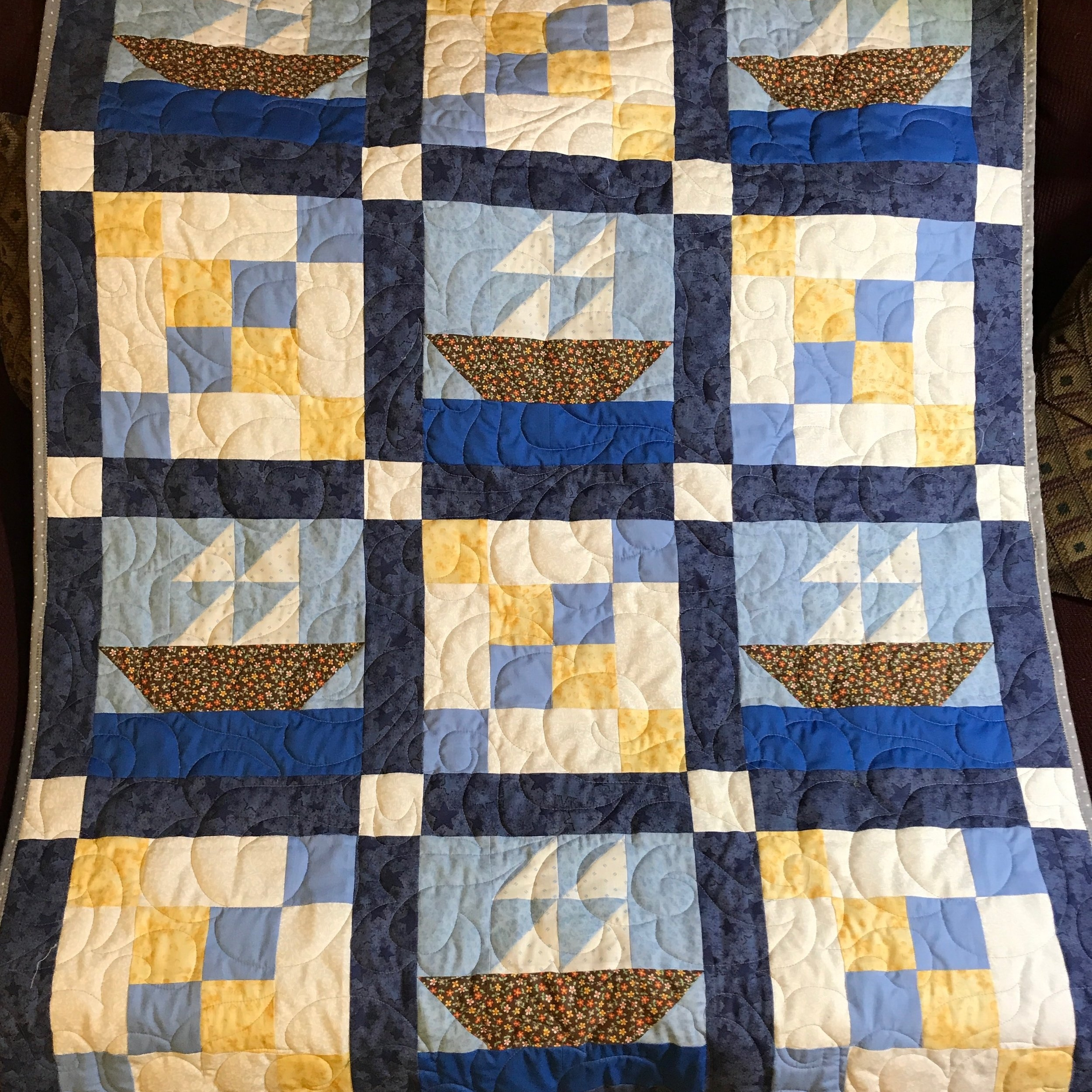commissioned quilt