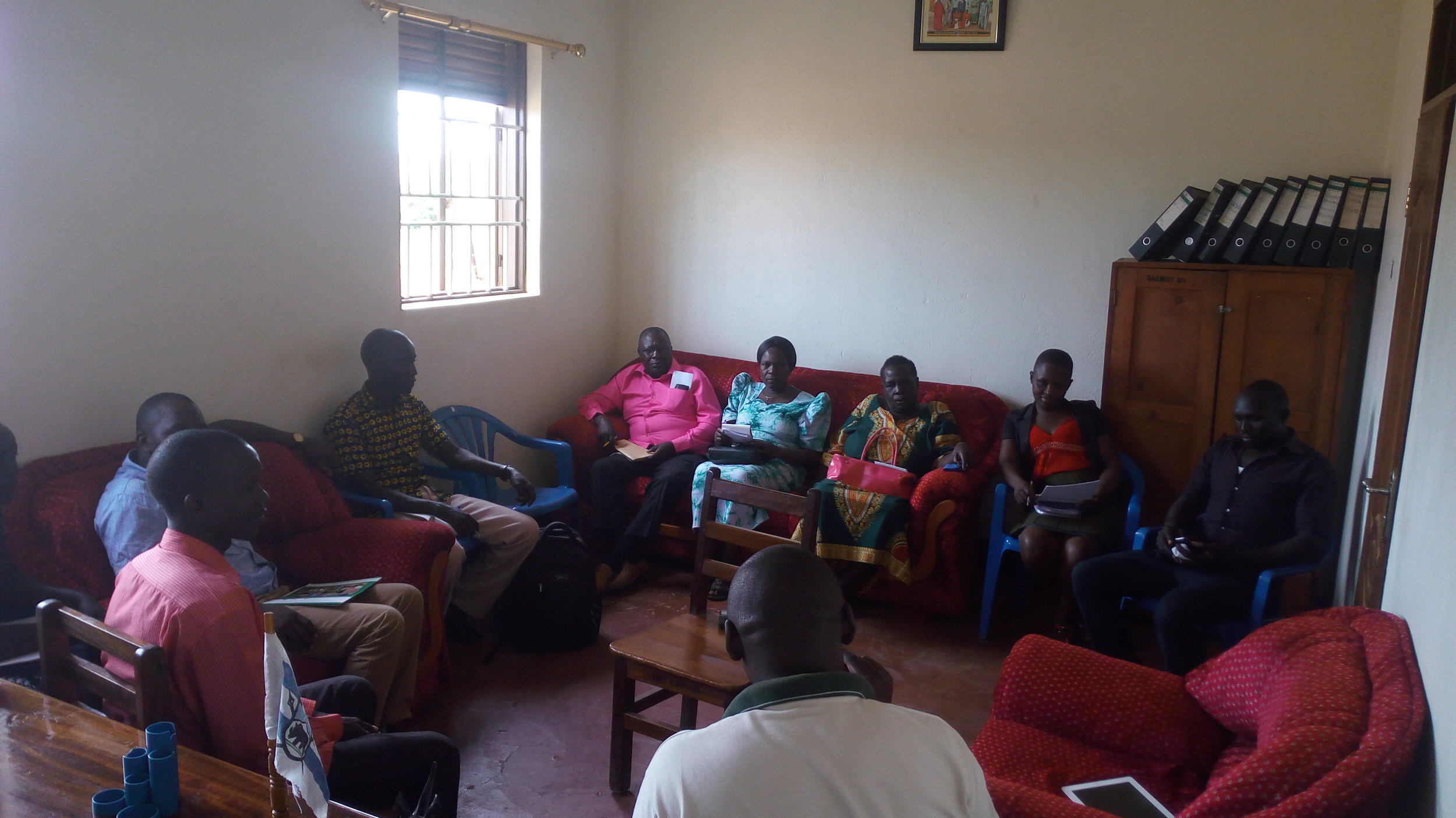 Yiya team conducts community need finding with Parents in Lira district.jpg