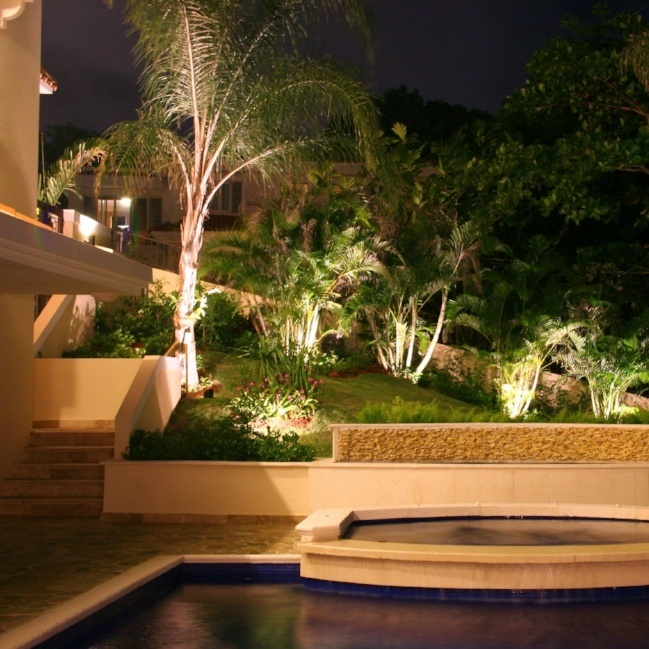 Strategically placed low-level lighting can increase security while providing natural ambiance.