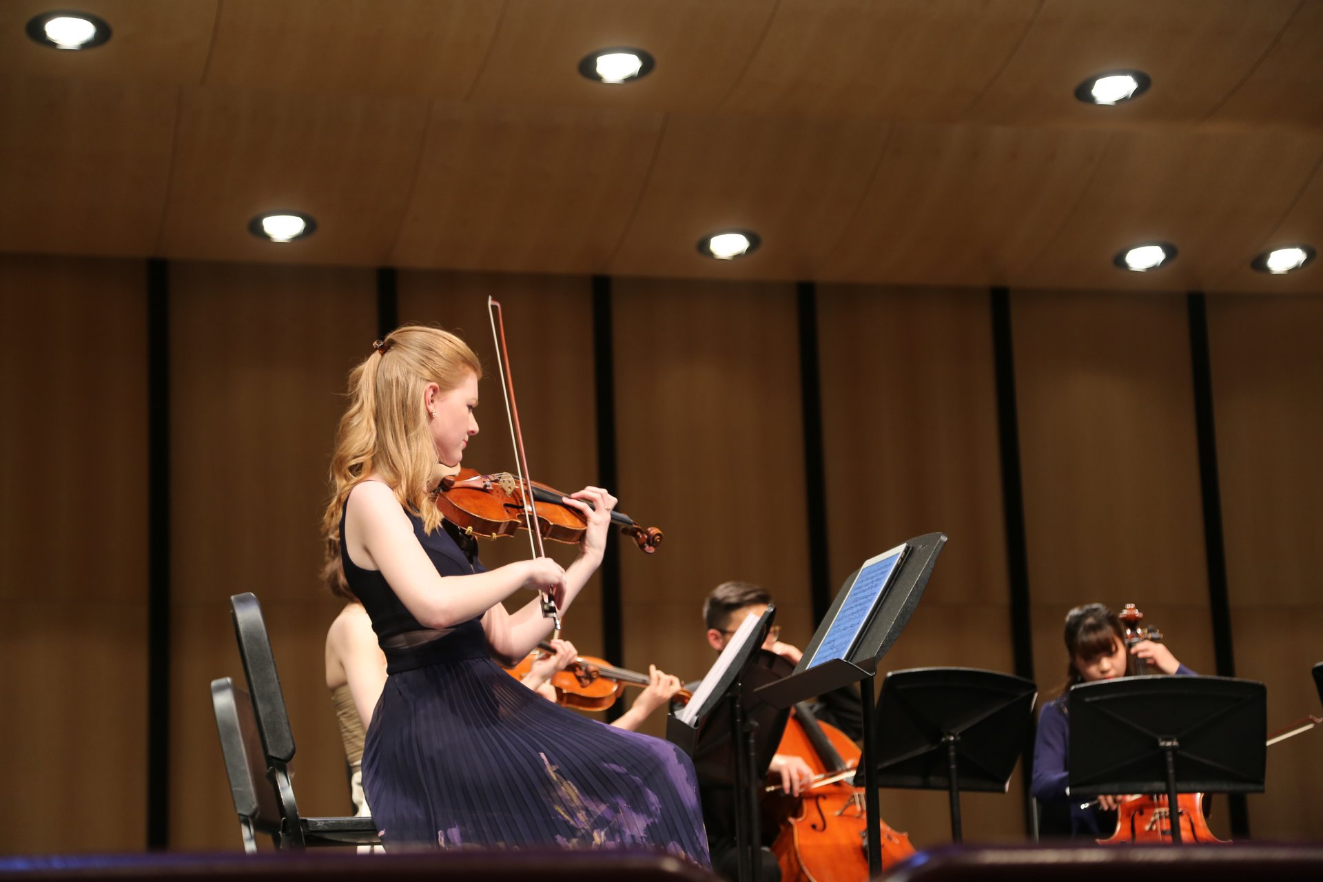 Kate performs Mendelssohn's Octet at MMF2018.