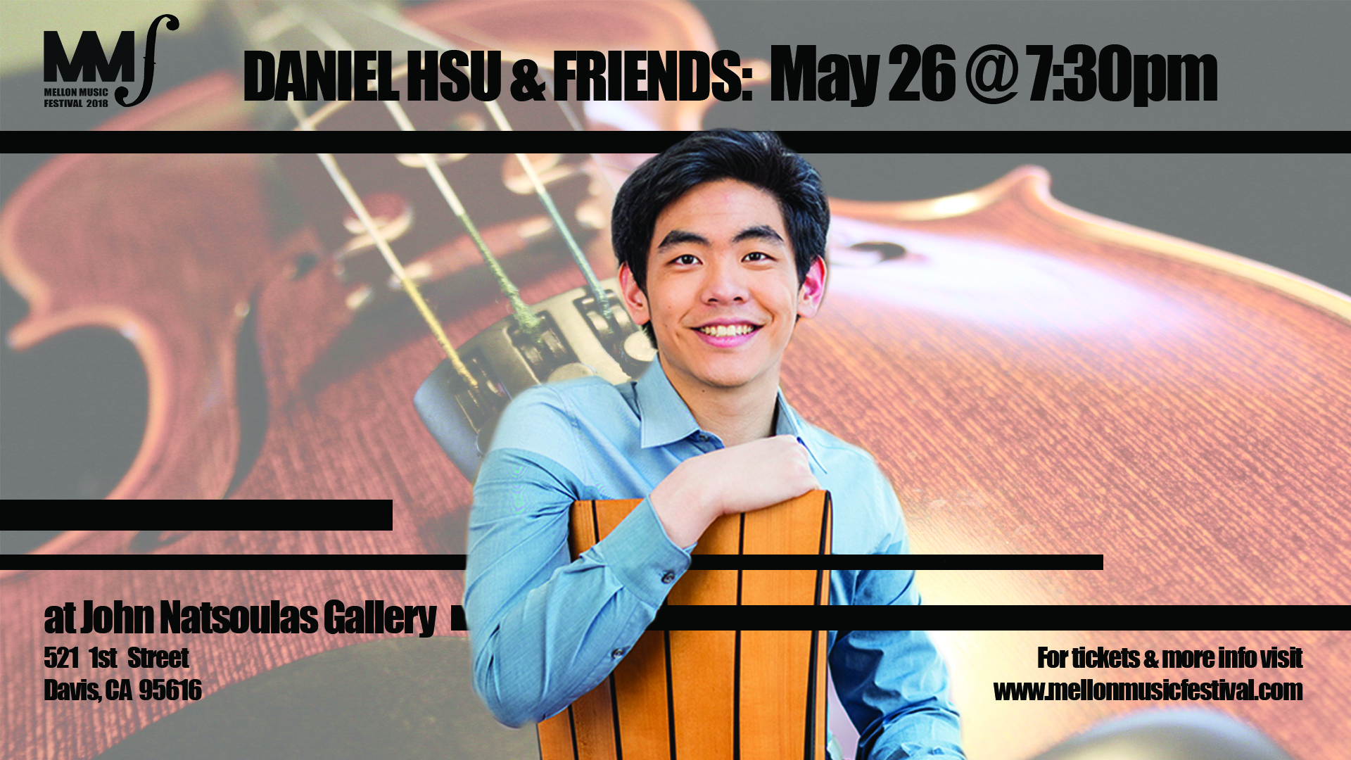 MMF2018 Daniel and Friends Cover Photo
