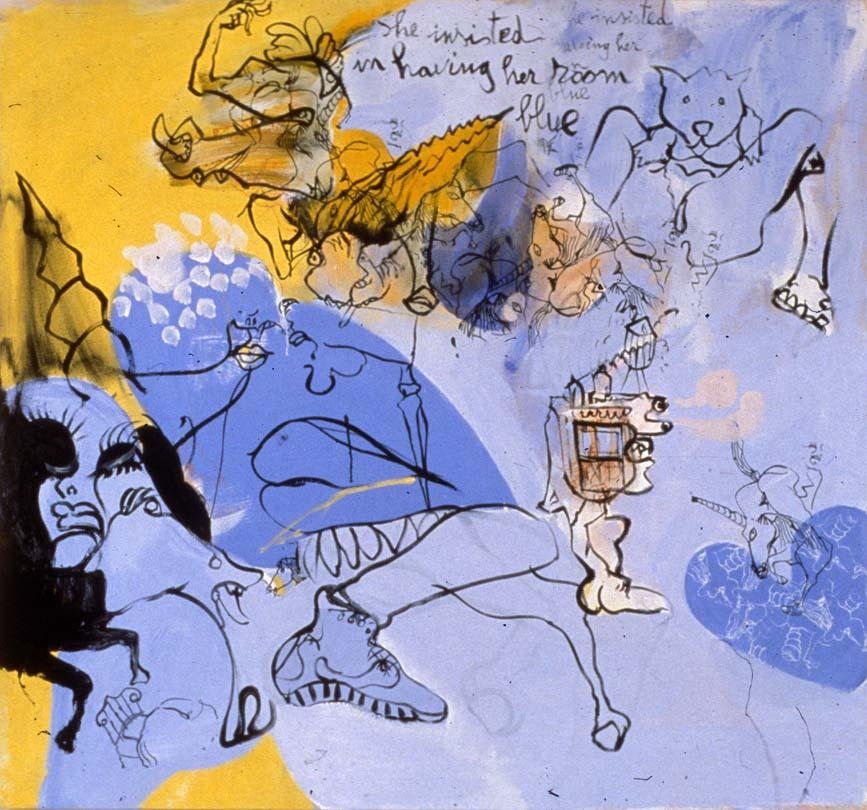 The Dream of the Unicorn [2], 2000, 50x55inches.