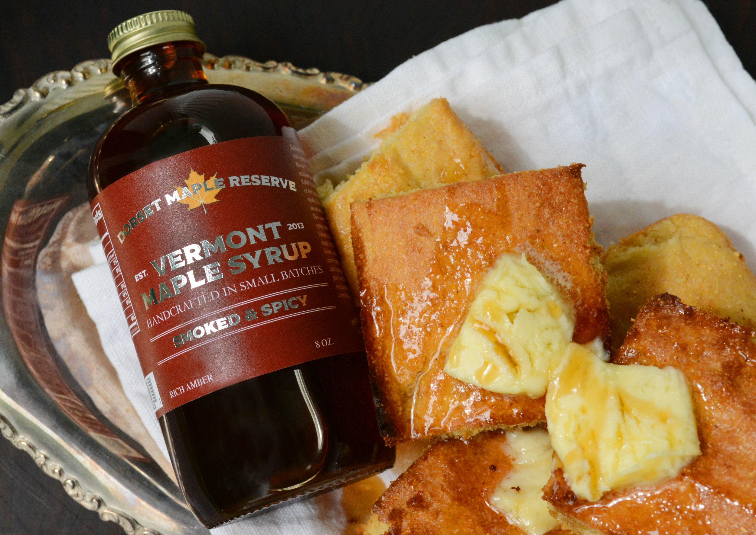 Buttery Maple Corn Bread