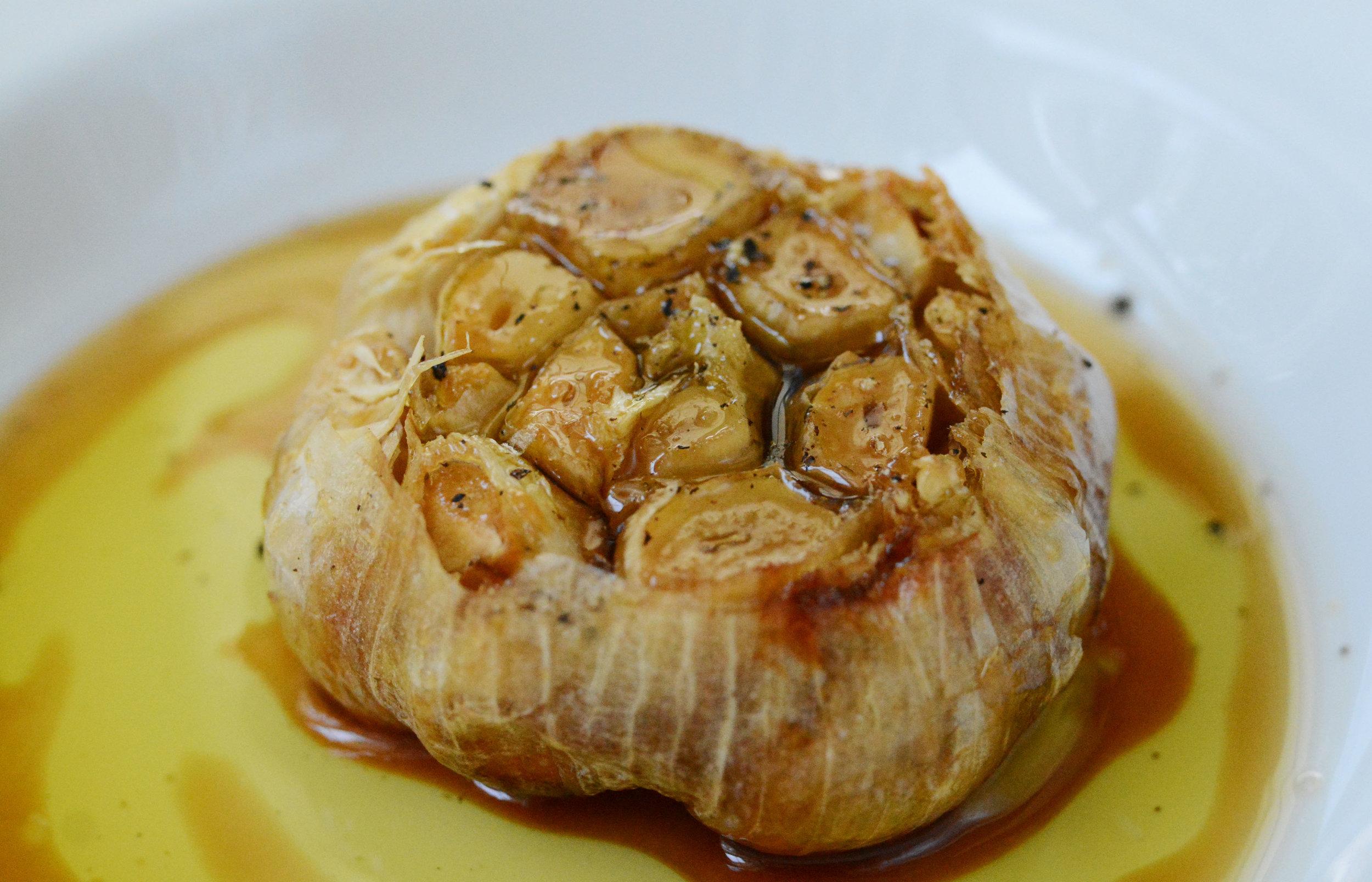Maple Roasted Garlic
