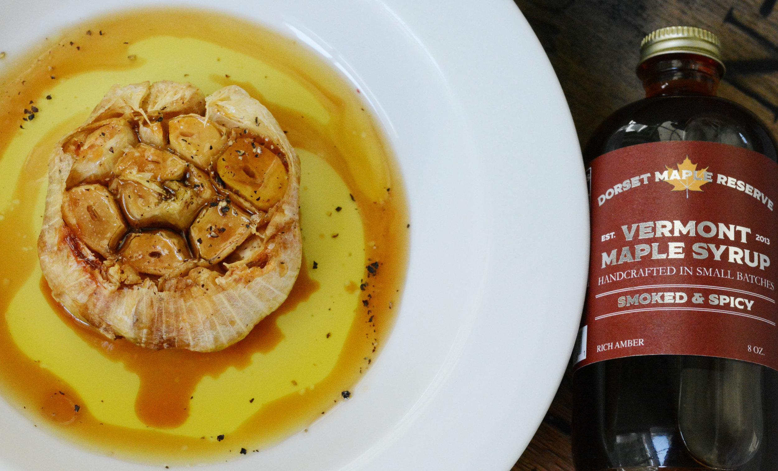 Maple Roasted Garlic -