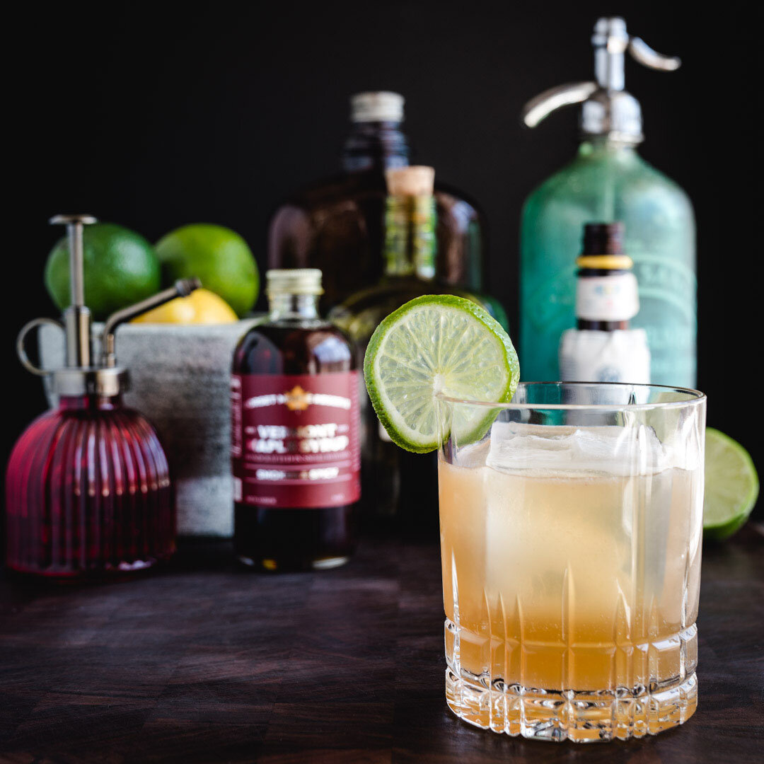 Smoked & Spicy Daiquiri - 3 oz white or gold rum 1 oz fresh lime juice .75 oz DMR smoked & spicy maple syrupPour all ingredients in a cocktail shaker filled with ice. Shake vigorously and serve straight up or on the rocks.   Garnish with lime wheel.