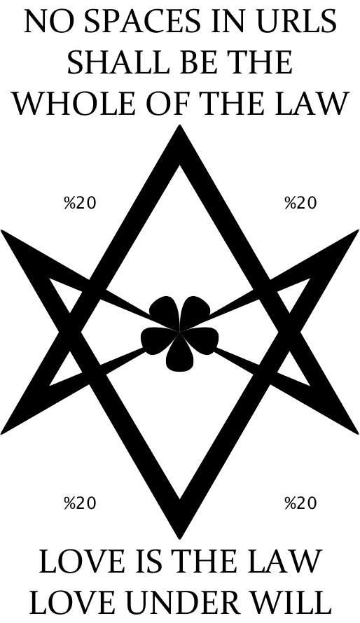 I have updated the law of  Thelema .