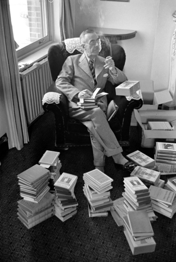 """theparisreview :      """"In books we never find anything but ourselves. Strangely enough, that always gives us great pleasure, and we say the author is a genius."""" ― Thomas Mann"""