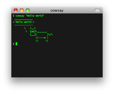 Cool, but obscure unix tools