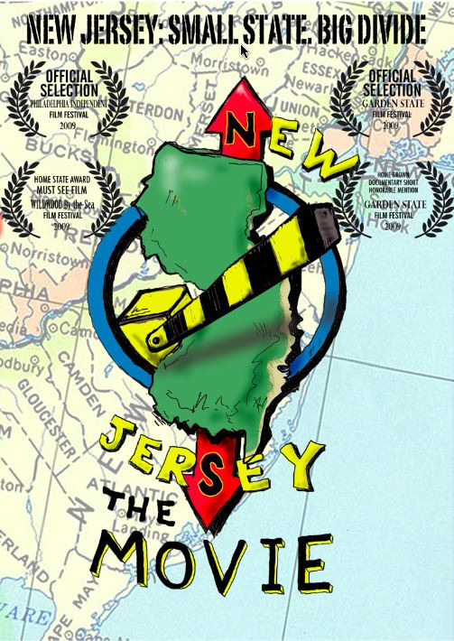 """""""New Jersey: The Movie is a 2009 American award-winning documentary film written and directed by Steve Chernoski. The film examines the cultural divide that exists in the state of New Jersey between North and South."""" ( via )"""