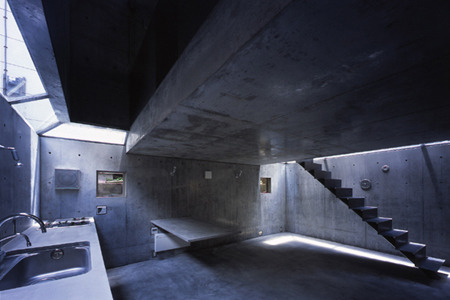 via  www.trendir.com    The concrete Magritte house is a minimalist dream, but it would be ruined once you actually introduced possessions into it.