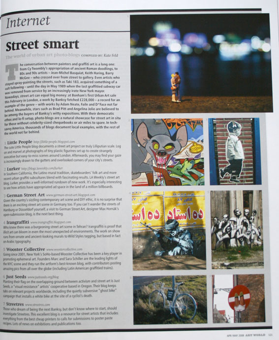 Art World  May 2007