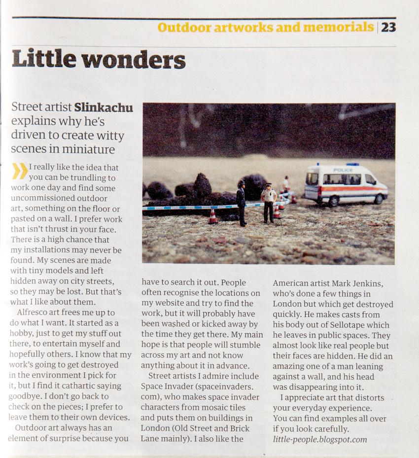 Guardian & Observer Guide  April 2009