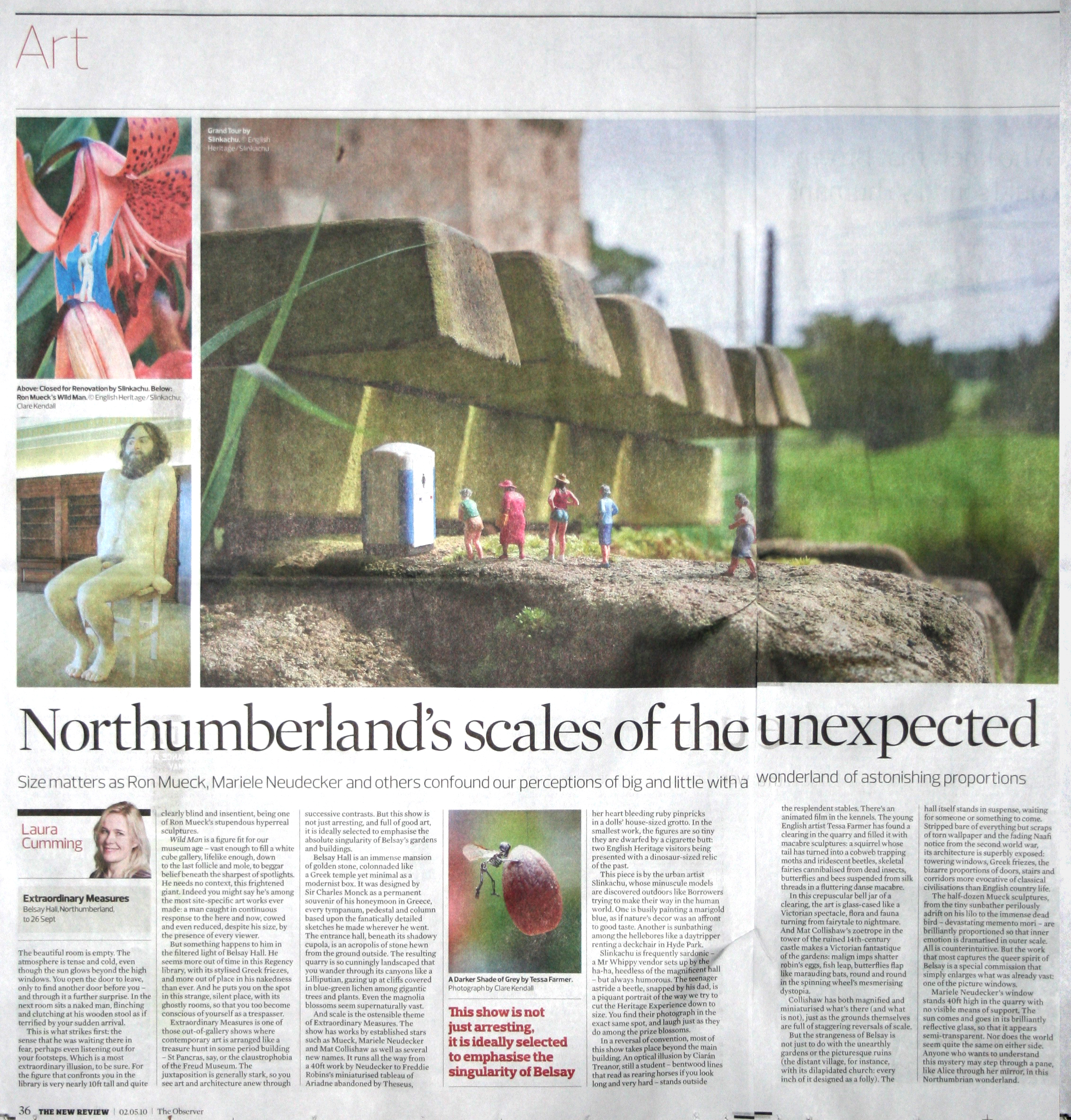 Observer Art Supplement 2nd May 2010
