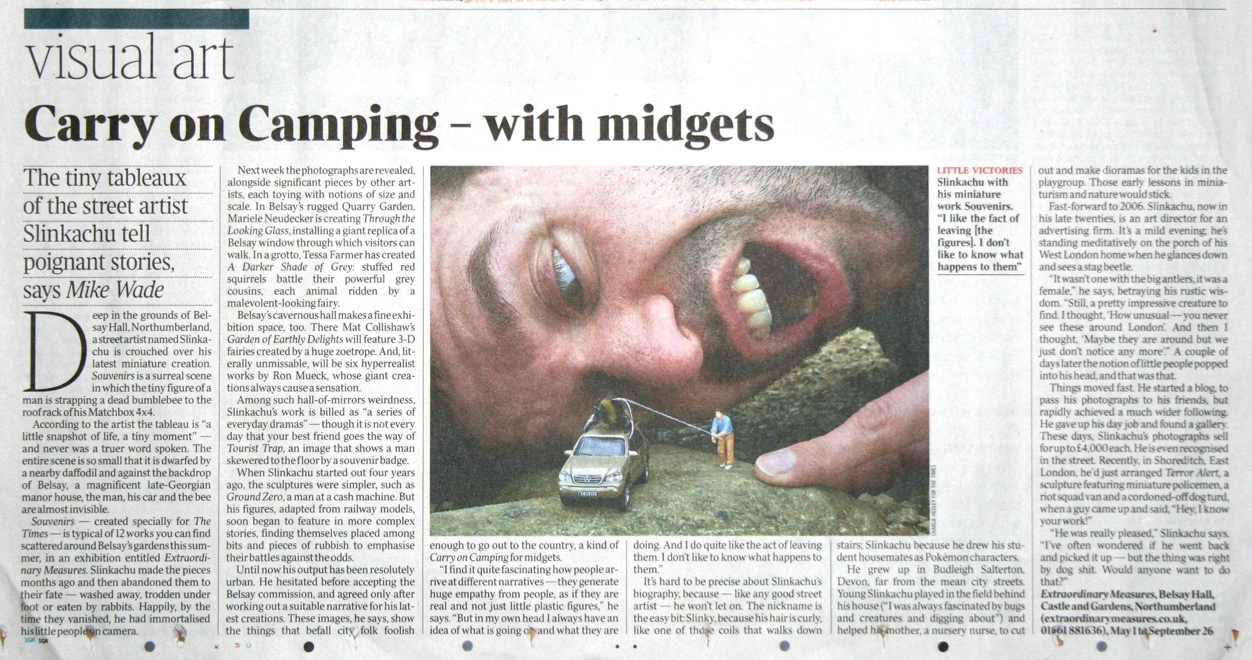 Times  25th April 2010