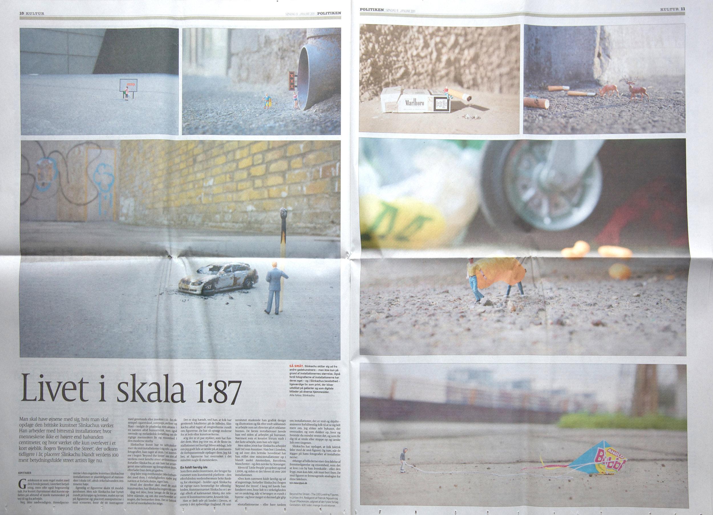 Politiken  (Belgium) 9th January 2011