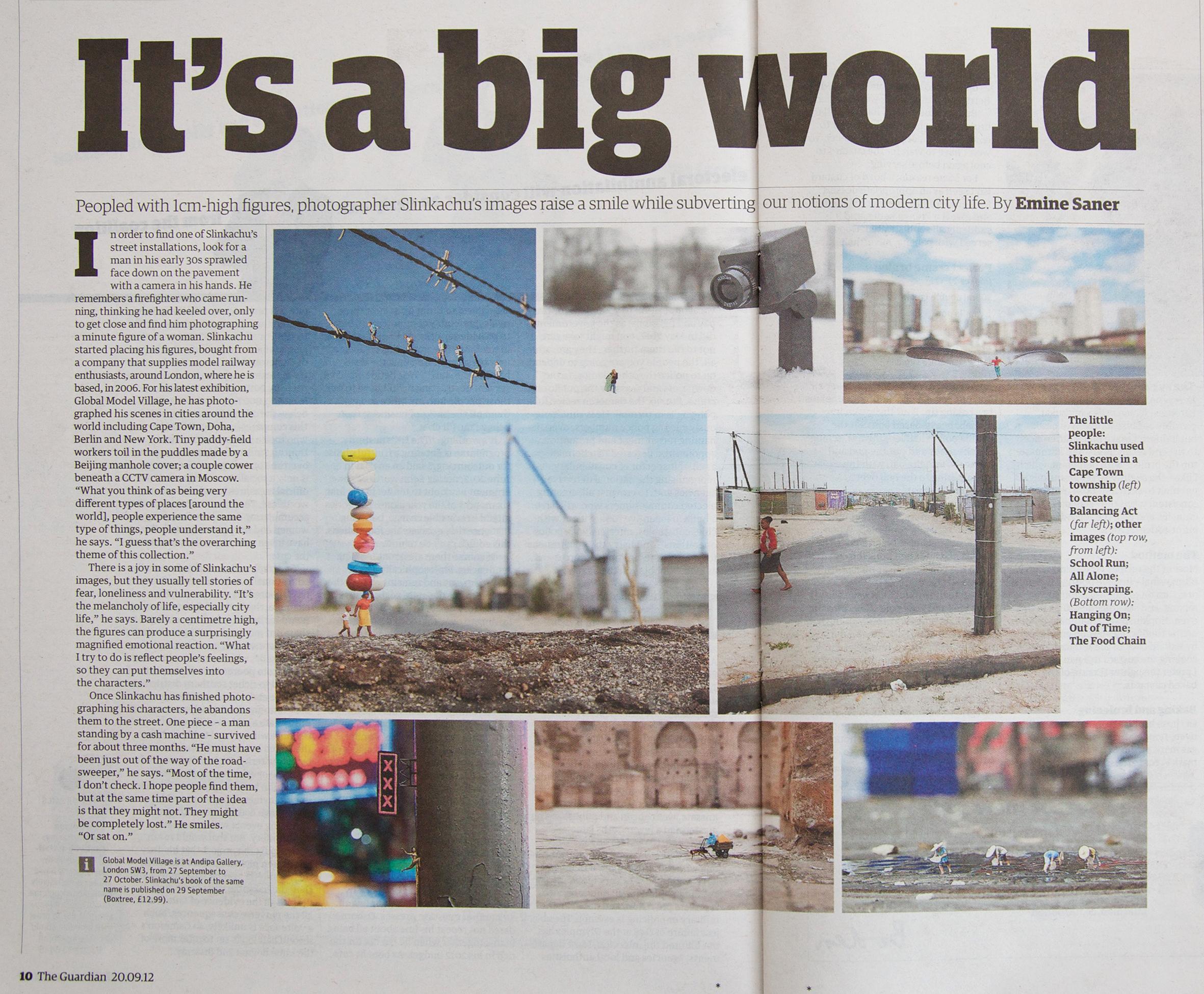 Guardian  20th September 2012